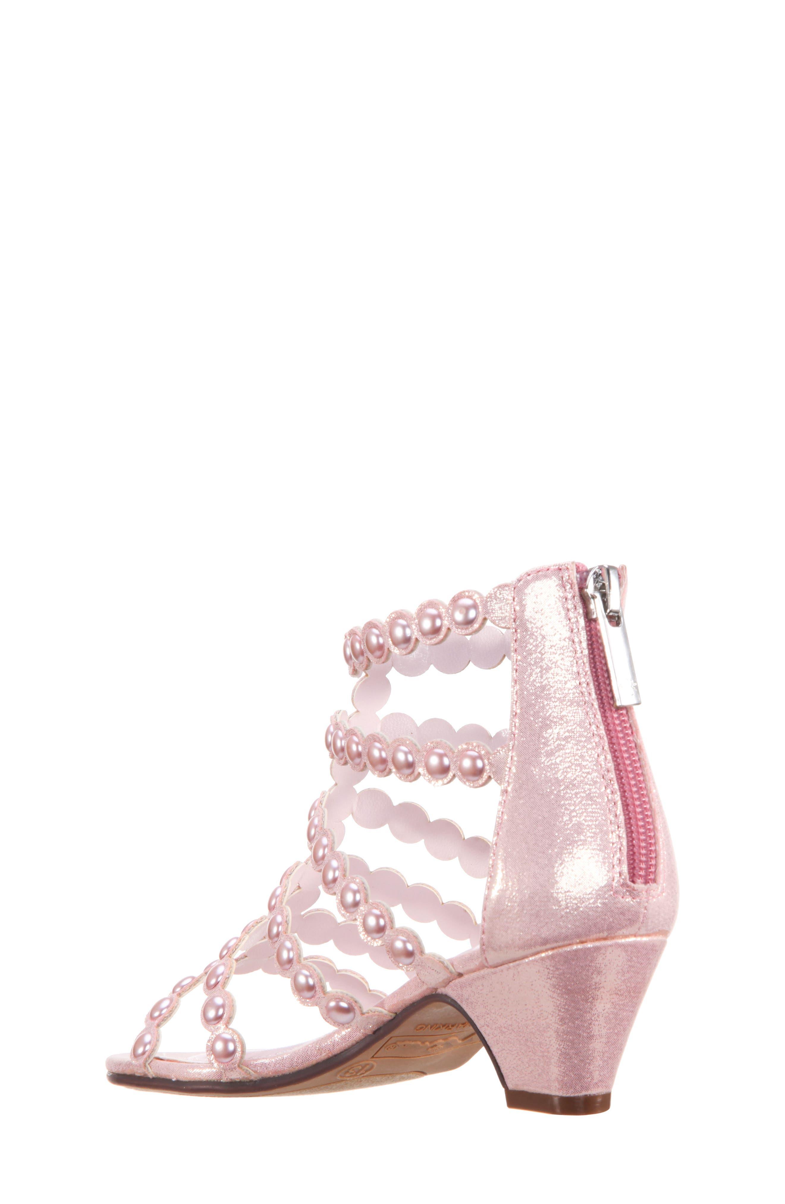 Princess-P Shimmer Sandal,                             Alternate thumbnail 5, color,