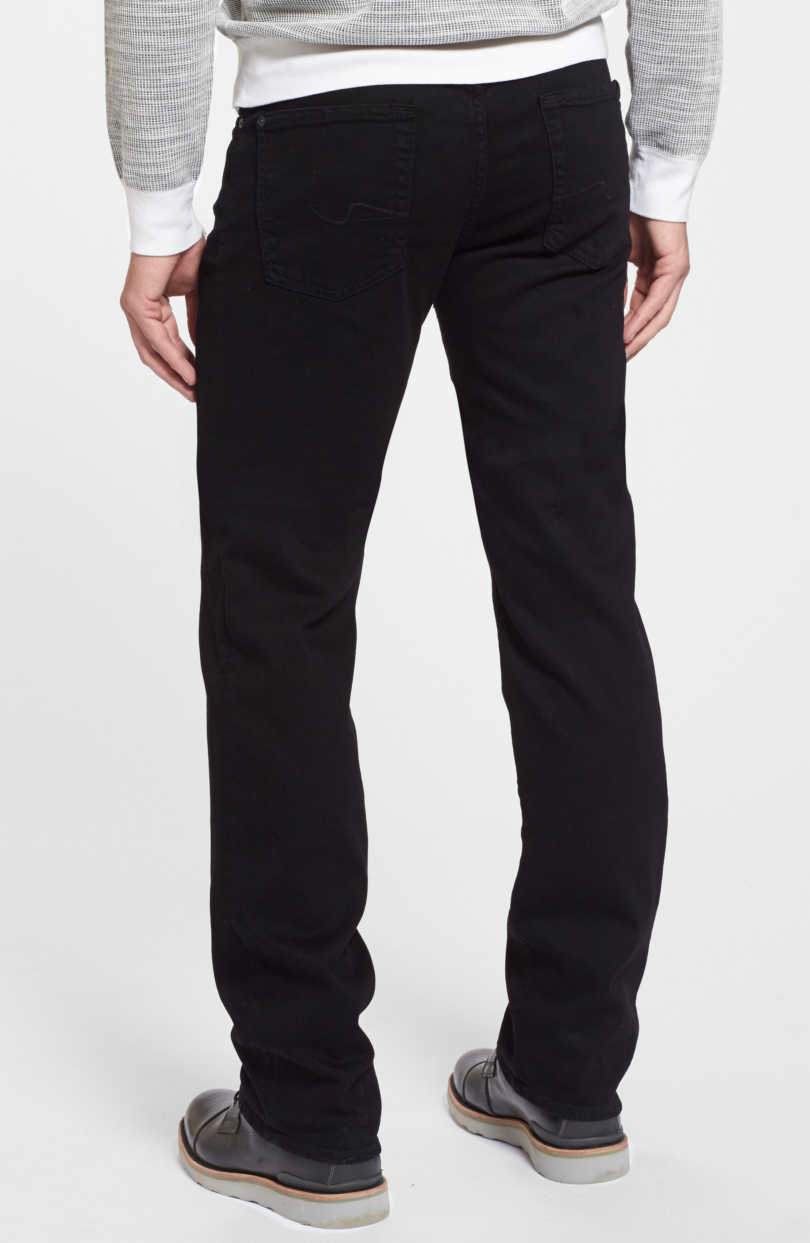The Standard - Luxe Performance Straight Leg Jeans,                             Alternate thumbnail 5, color,                             004