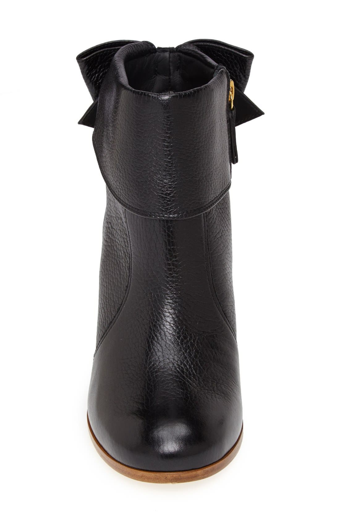 'lanise' leather boot,                             Alternate thumbnail 4, color,