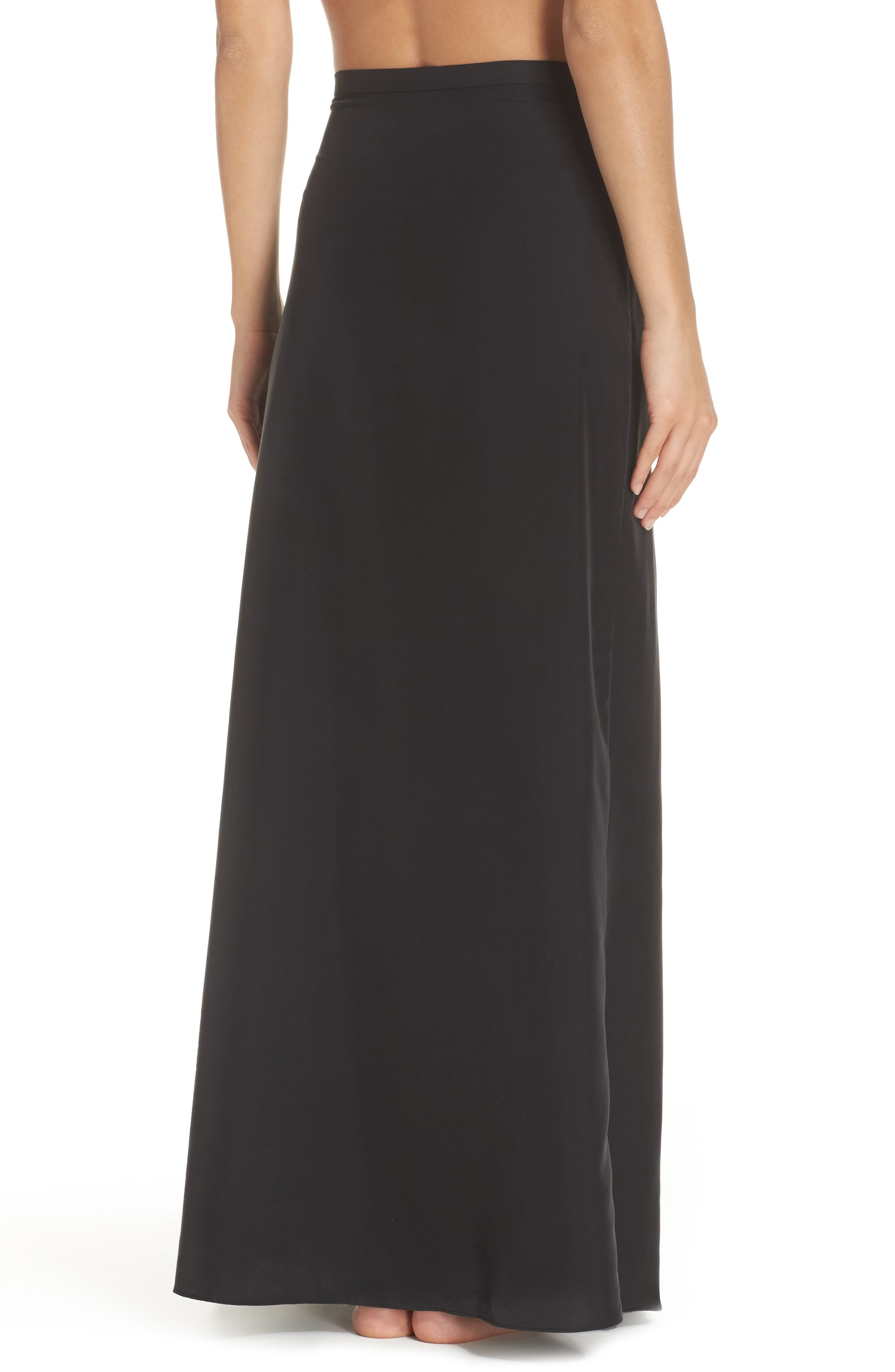 Lasting Impressions Cover-Up Maxi Skirt,                             Alternate thumbnail 2, color,                             001