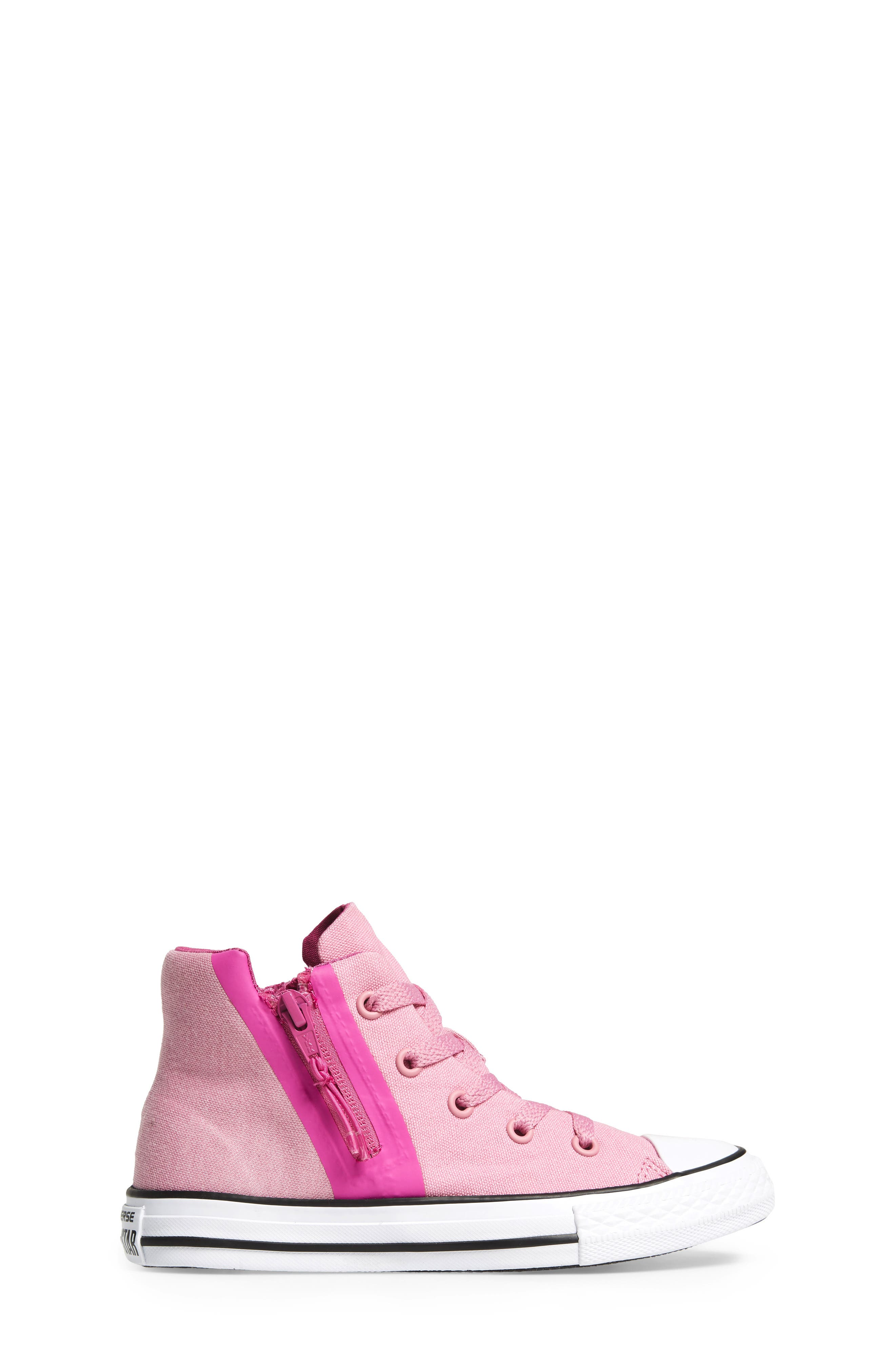 Chuck Taylor<sup>®</sup> All Star<sup>®</sup> Sport Zip High Top Sneaker,                             Alternate thumbnail 3, color,