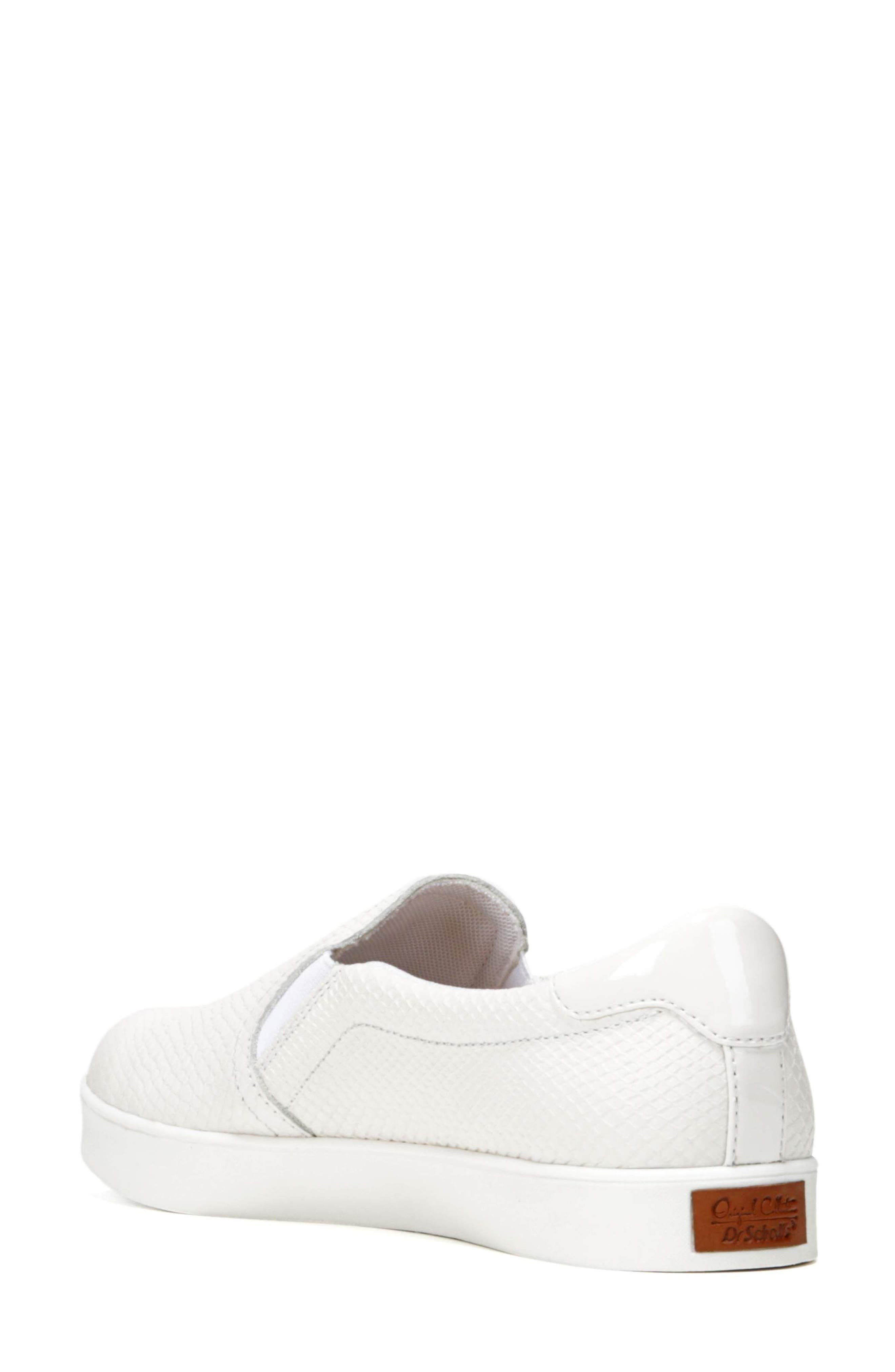 Original Collection 'Scout' Slip On Sneaker,                             Alternate thumbnail 2, color,                             GARDENIA LEATHER