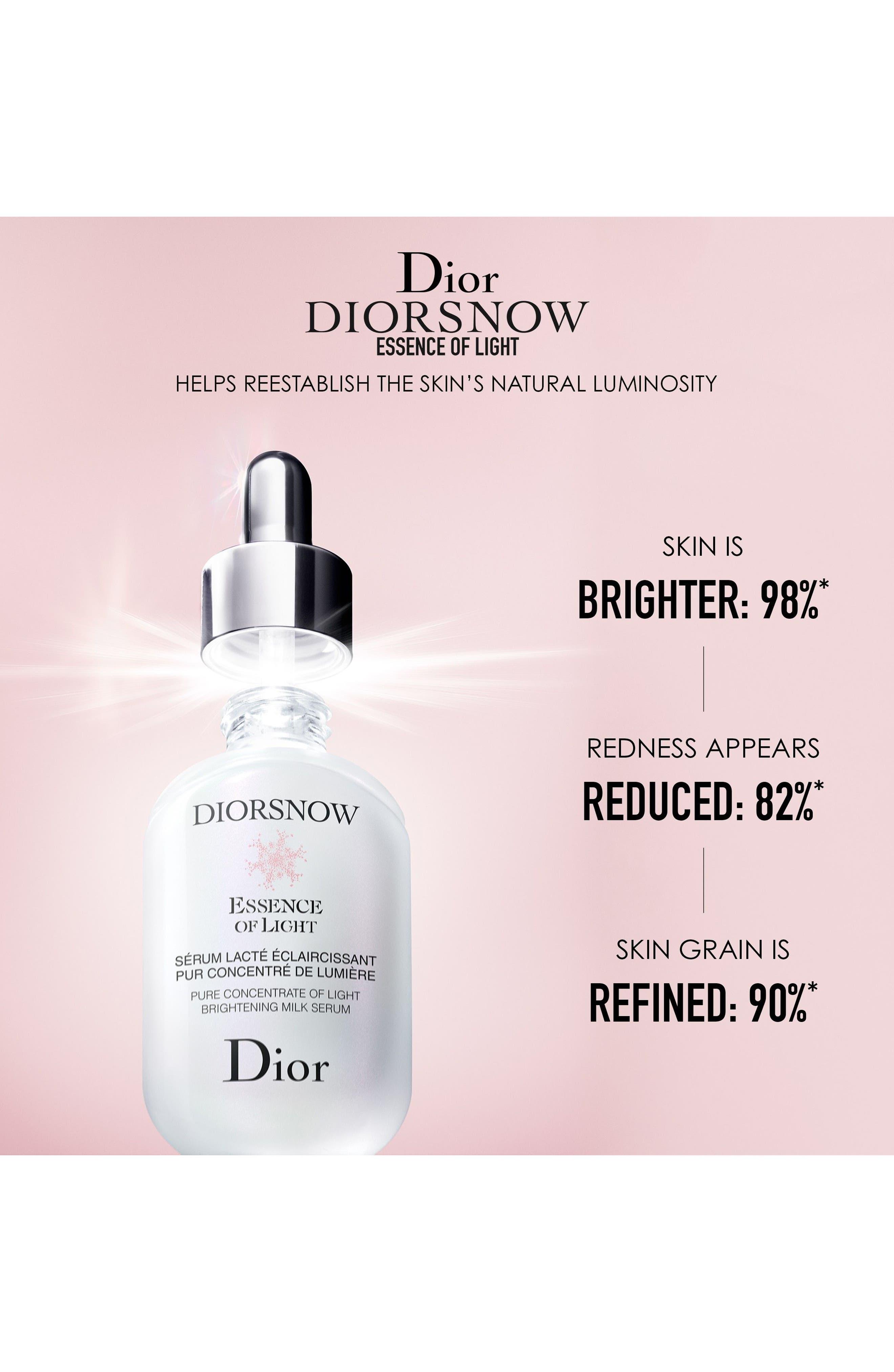 Diorsnow Essence of Light Brightening Milk Serum,                             Alternate thumbnail 7, color,                             NO COLOR