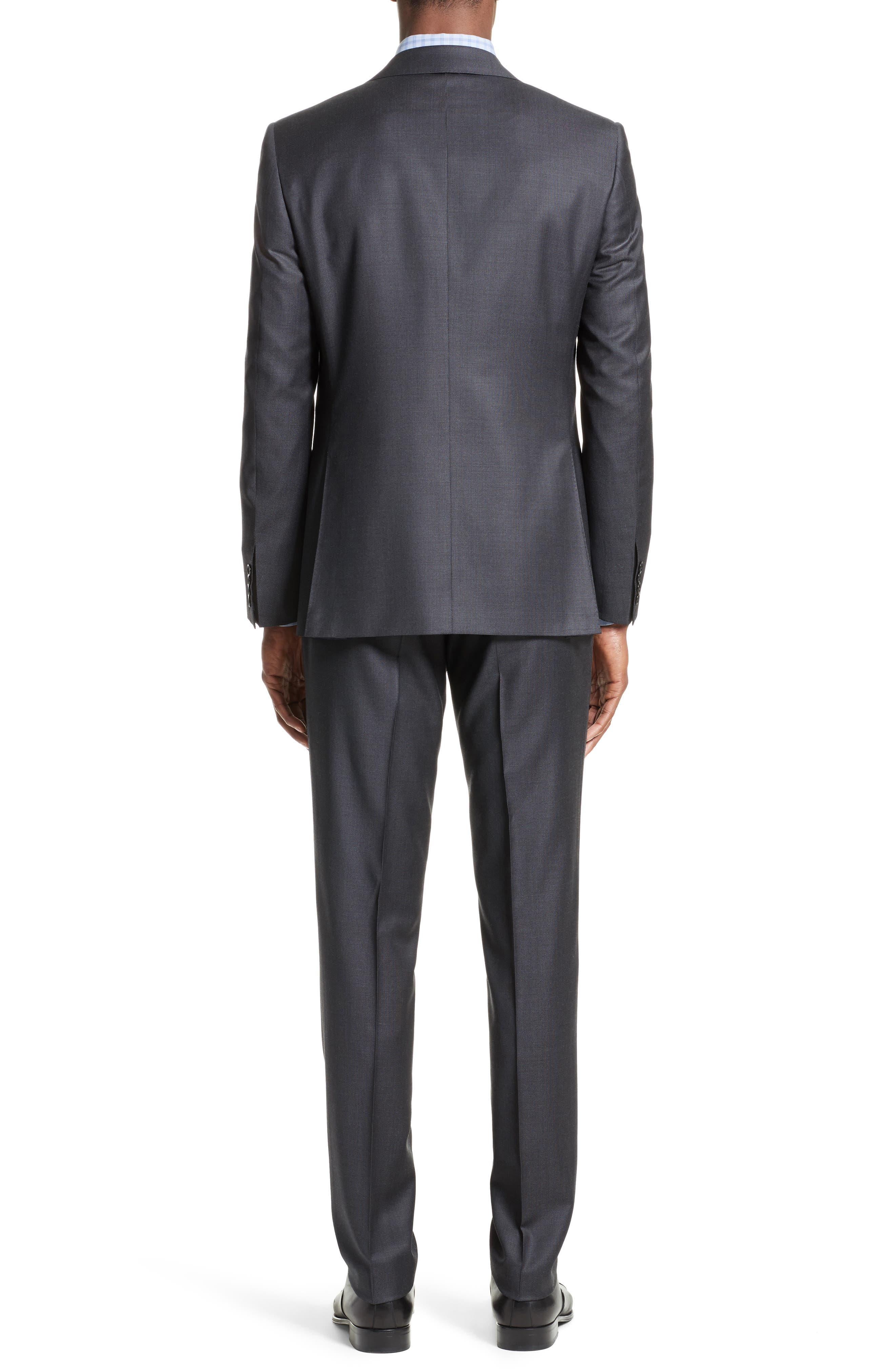 Classic Fit Solid Wool Suit,                             Alternate thumbnail 2, color,                             020