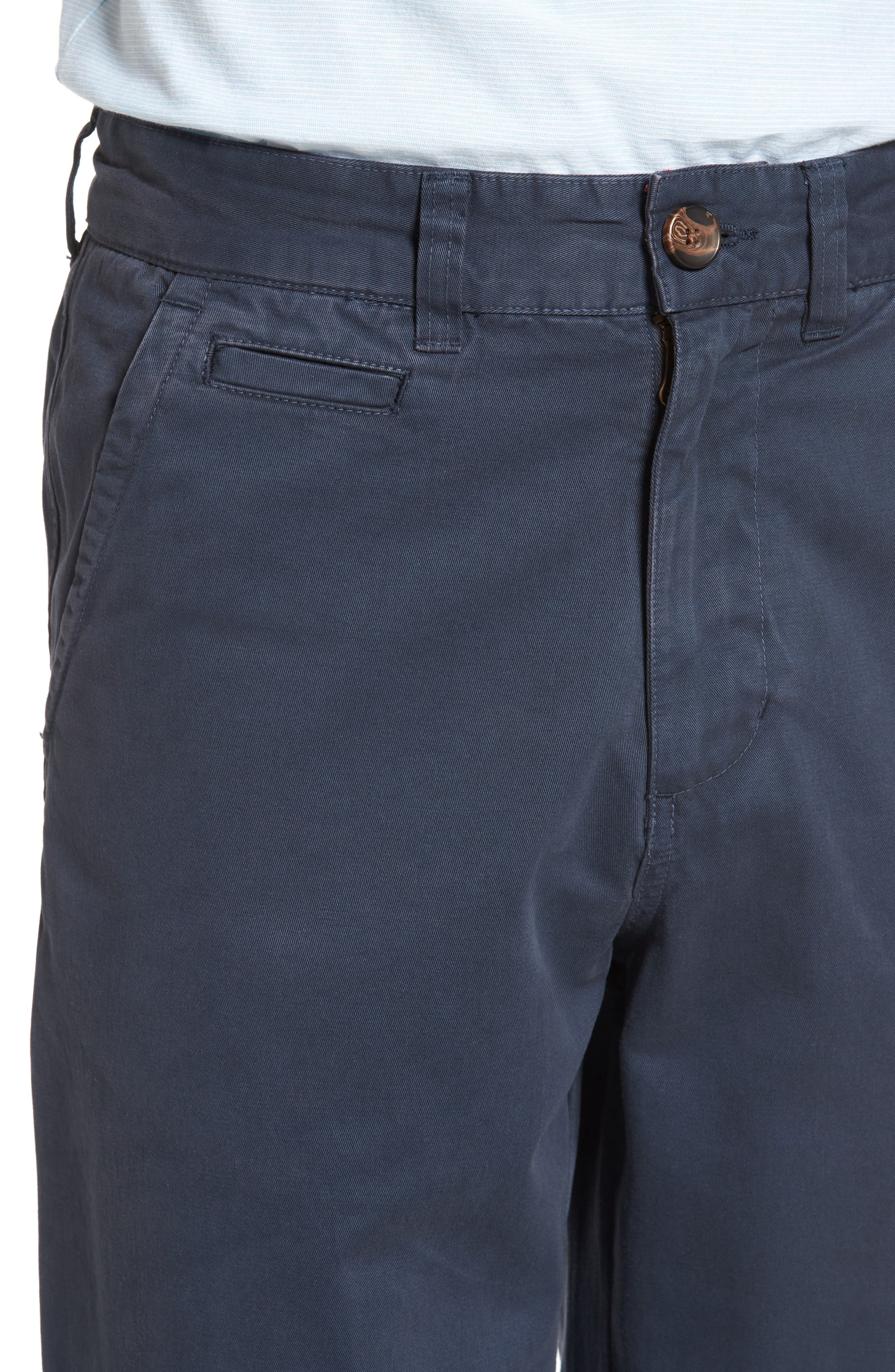 Classic Fit Military Chinos,                             Alternate thumbnail 4, color,                             NAVY