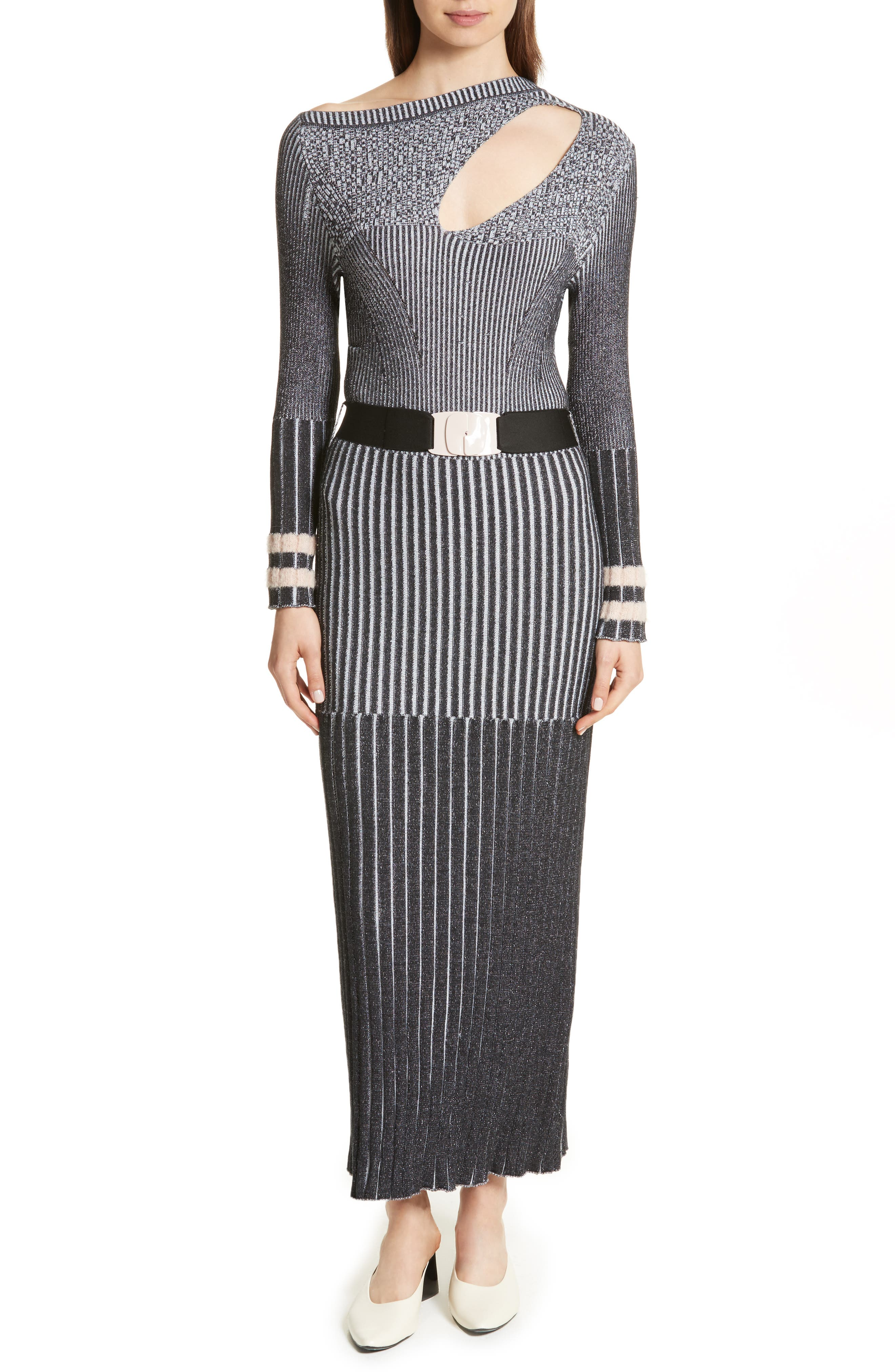 Urge Maxi Sweater Dress,                             Main thumbnail 1, color,                             001
