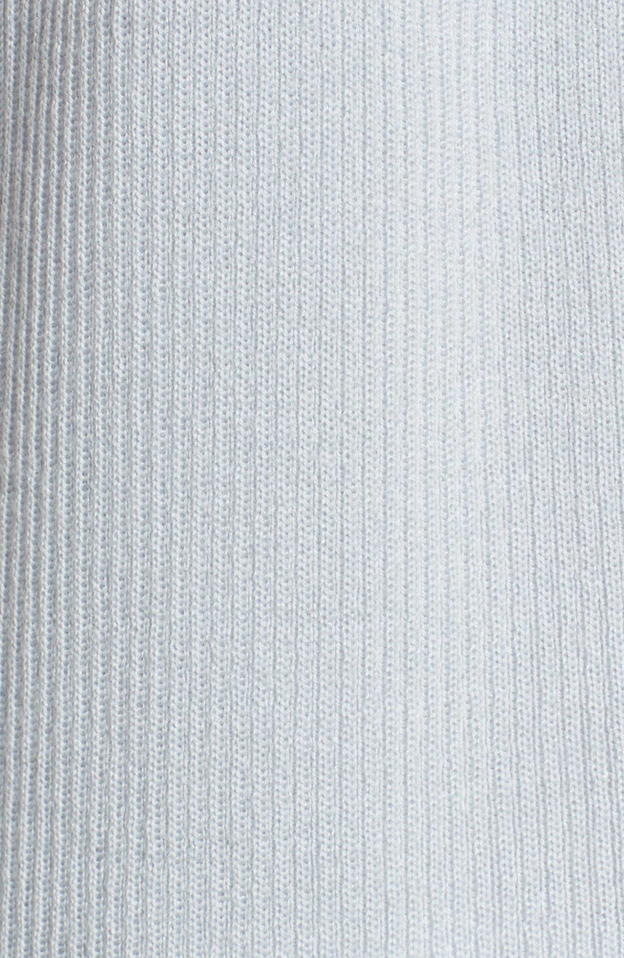 Rib Knit Wool Blend Cardigan,                             Alternate thumbnail 93, color,