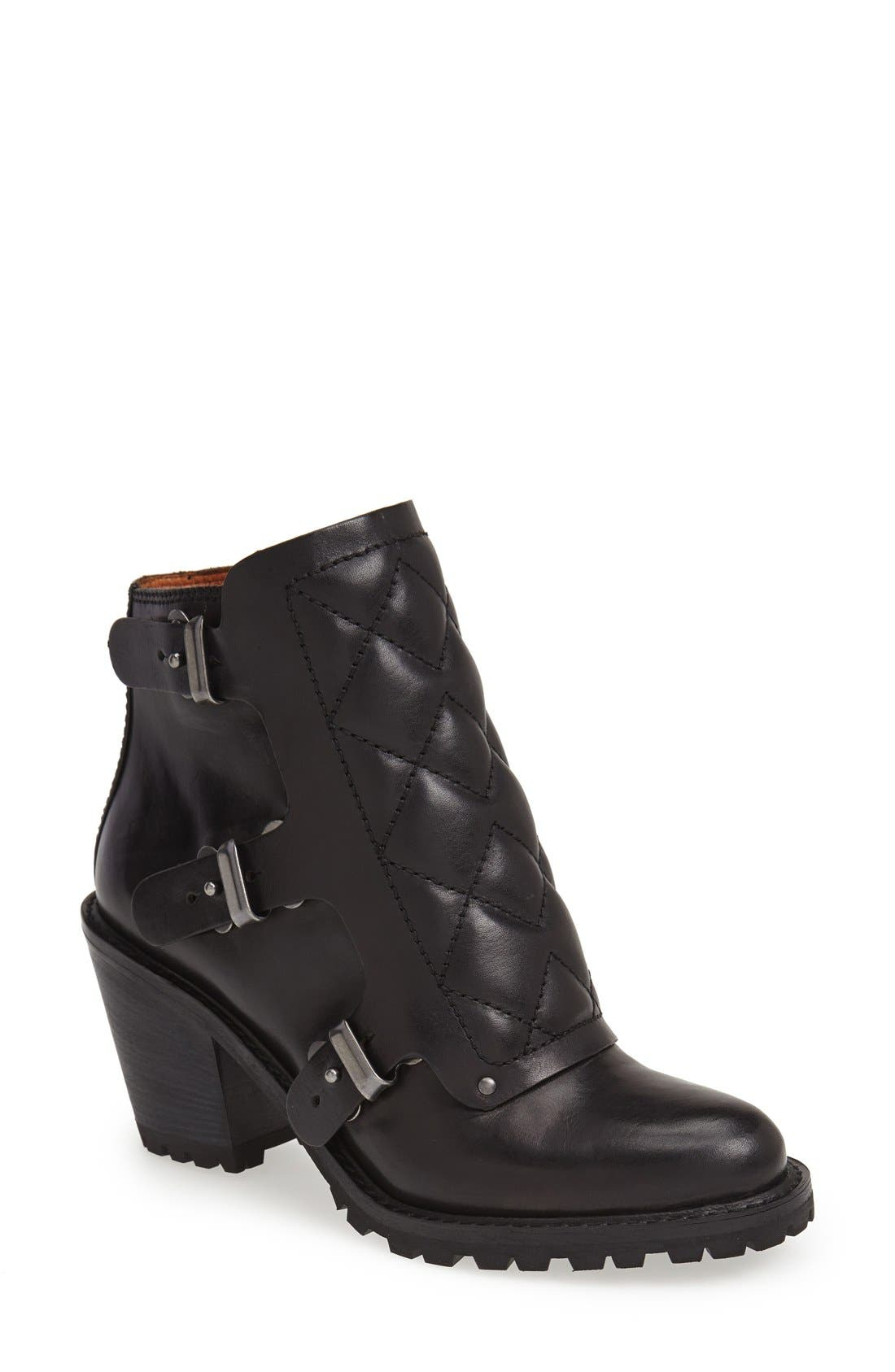 MARC BY MARC JACOBS Ankle Boot, Main, color, 001