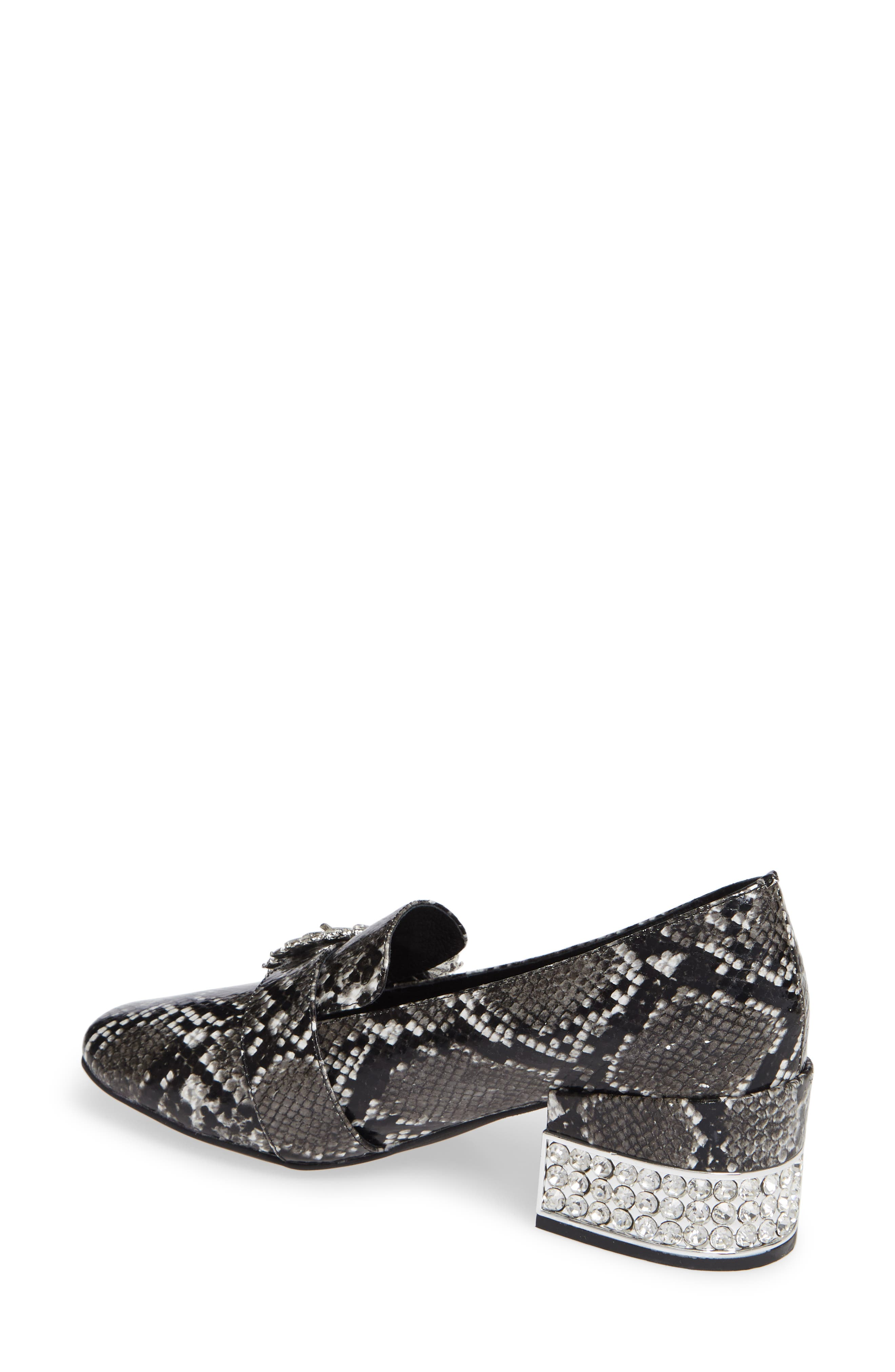 Louisa Pump,                             Alternate thumbnail 2, color,                             SNAKE PRINT LEATHER/ SILVER