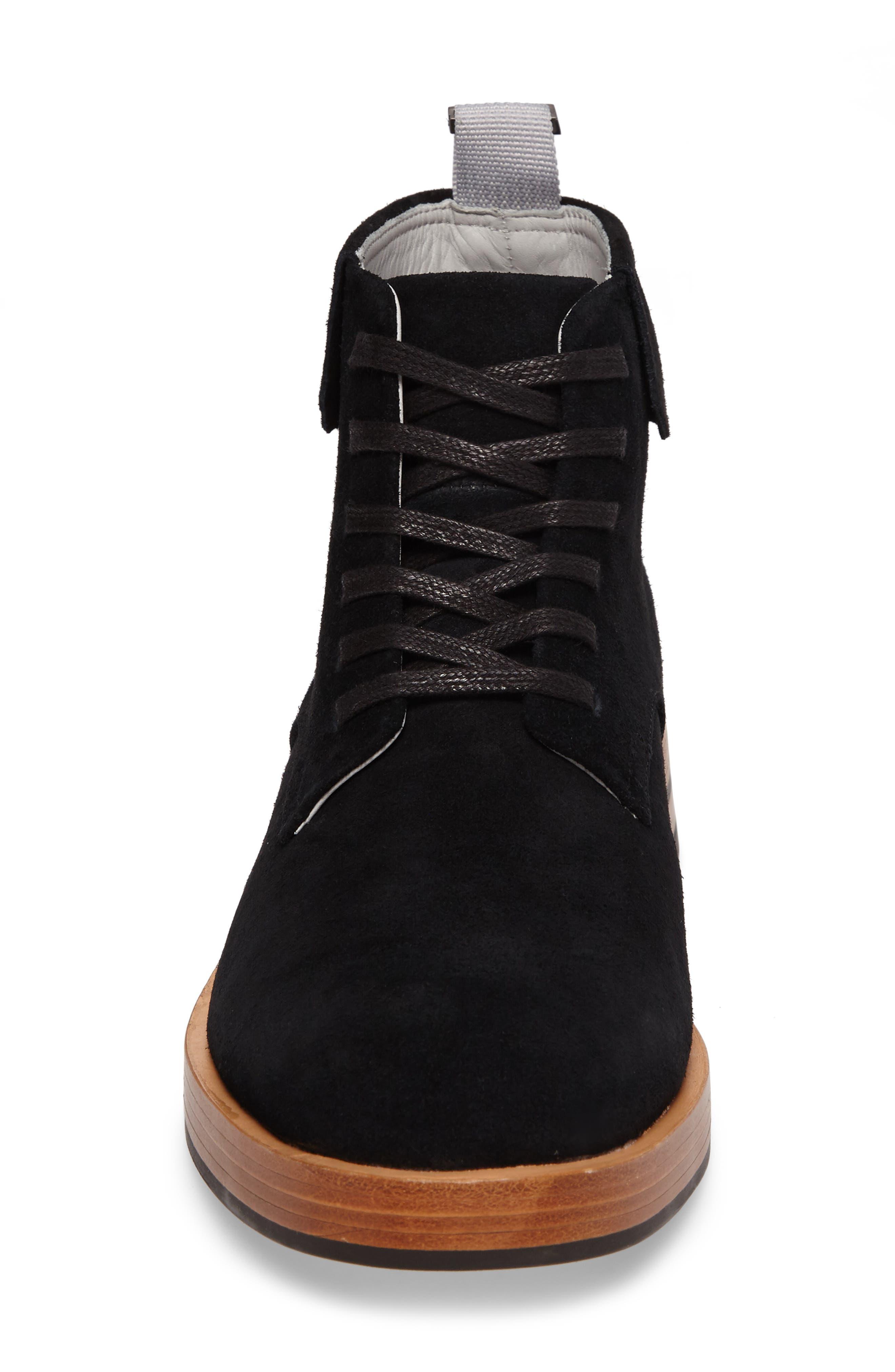 Radburn Plain Toe Boot,                             Alternate thumbnail 4, color,                             001