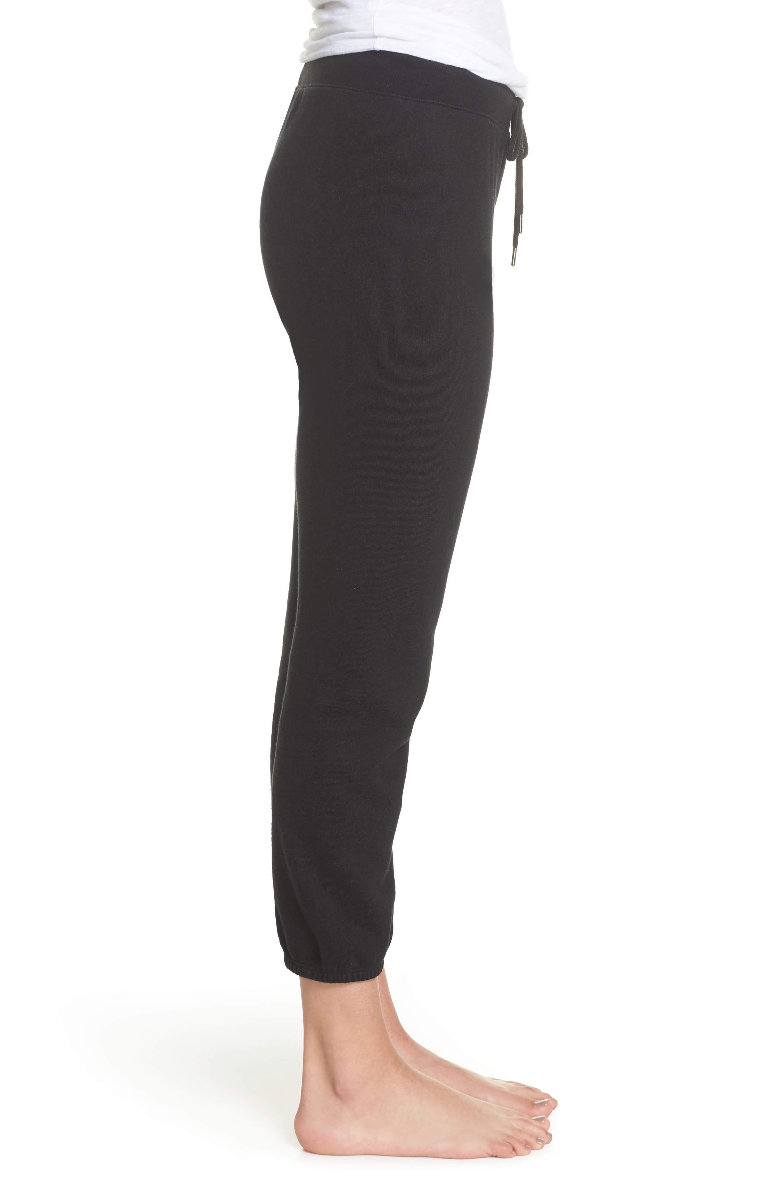 Loung Sweatpants,                             Alternate thumbnail 3, color,                             FADED BLACK