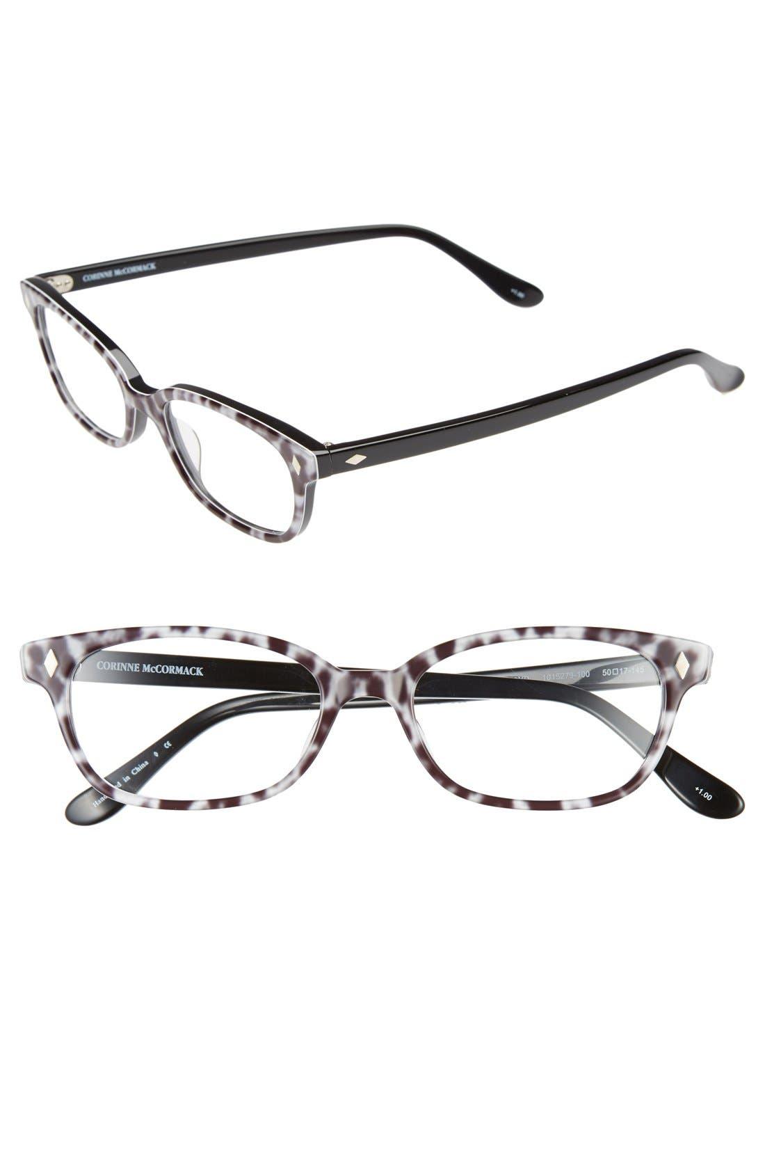 'Cyd' 50mm Reading Glasses,                             Main thumbnail 2, color,