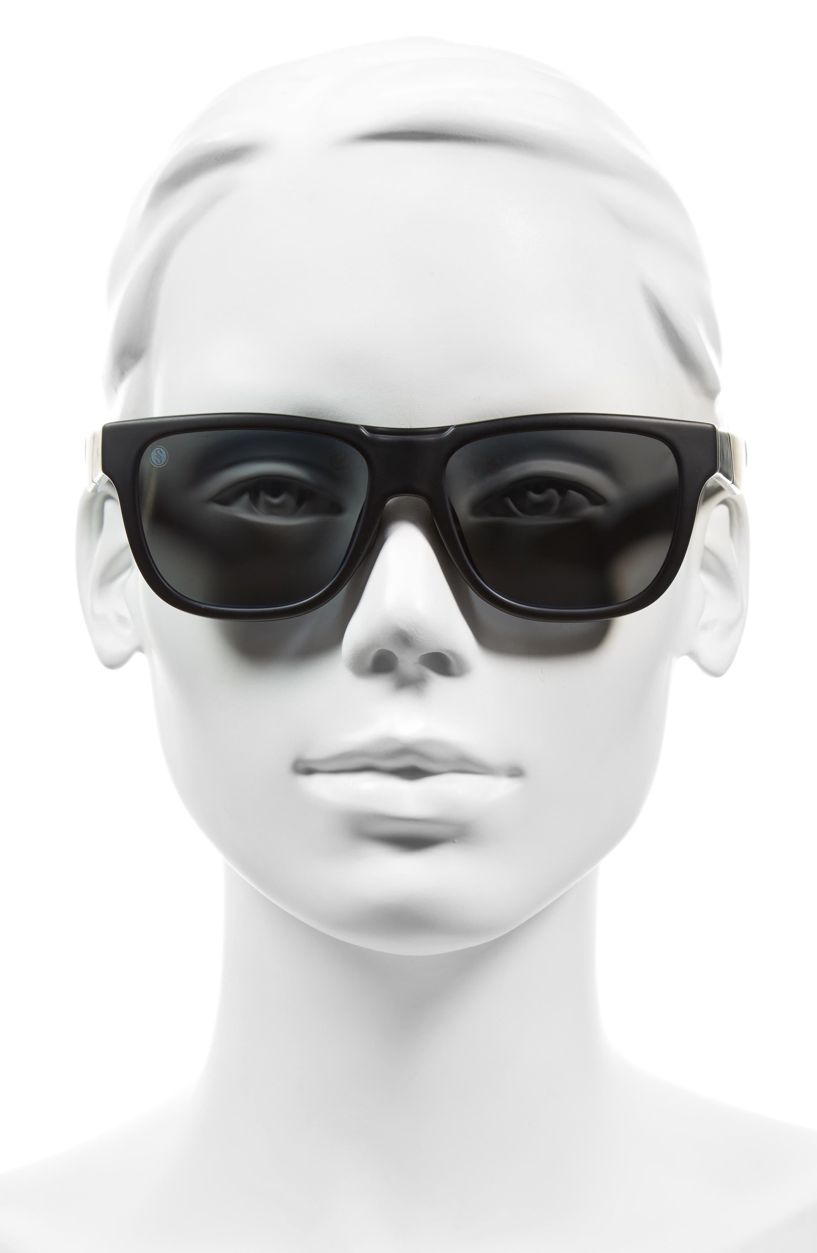 Lowdown Slim 53mm ChromaPop Polarized Sunglasses,                             Alternate thumbnail 2, color,                             001
