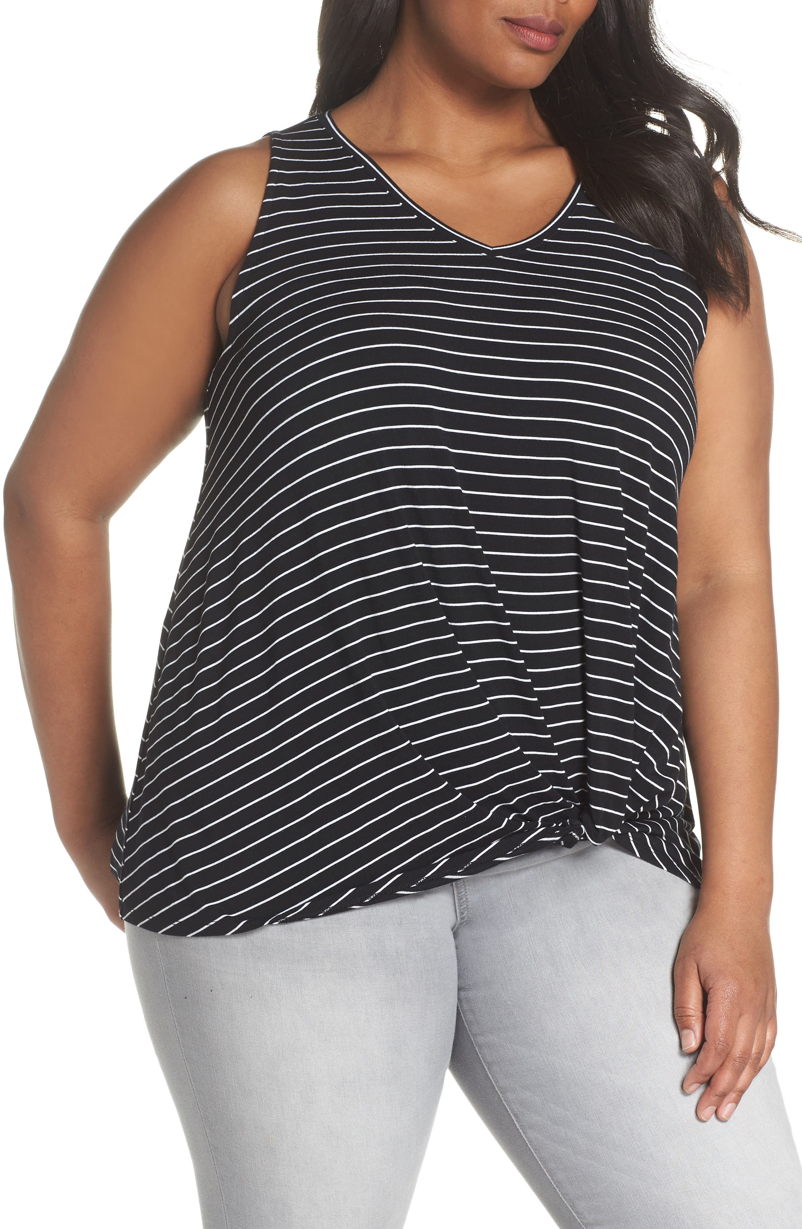 Twisted Waist Tank Top,                         Main,                         color, 001