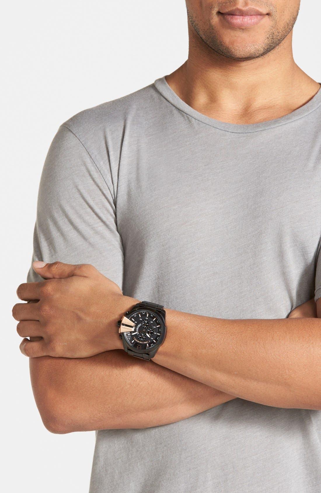'Mega Chief' Bracelet Watch, 51mm,                             Alternate thumbnail 21, color,