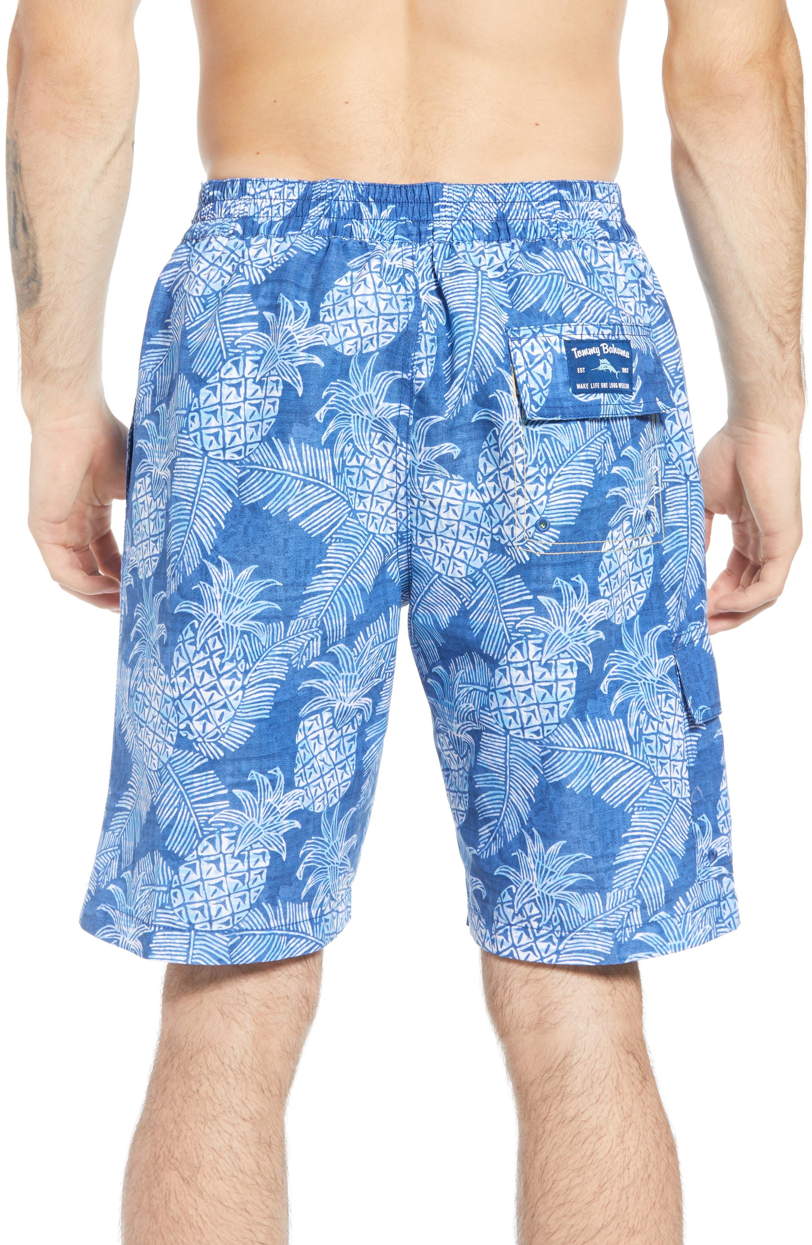 Paradise Around Board Shorts,                             Alternate thumbnail 2, color,                             OCEAN DEEP