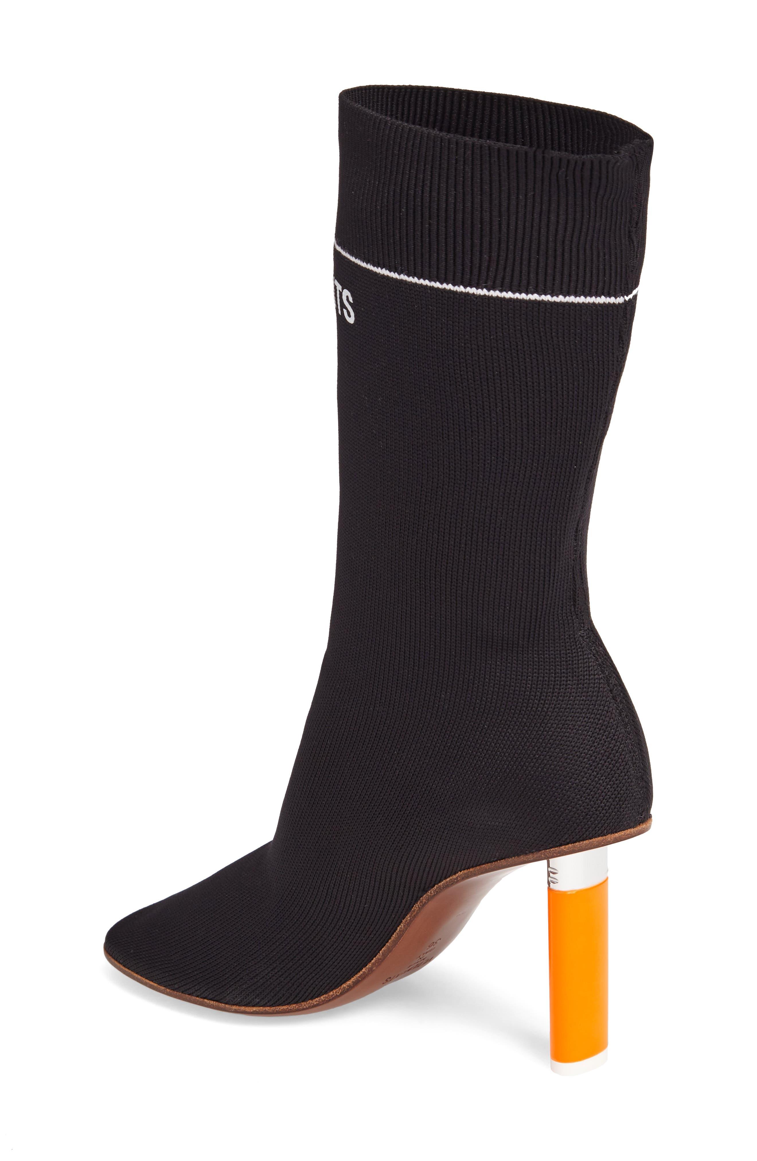 Sock Boot,                             Alternate thumbnail 2, color,                             001