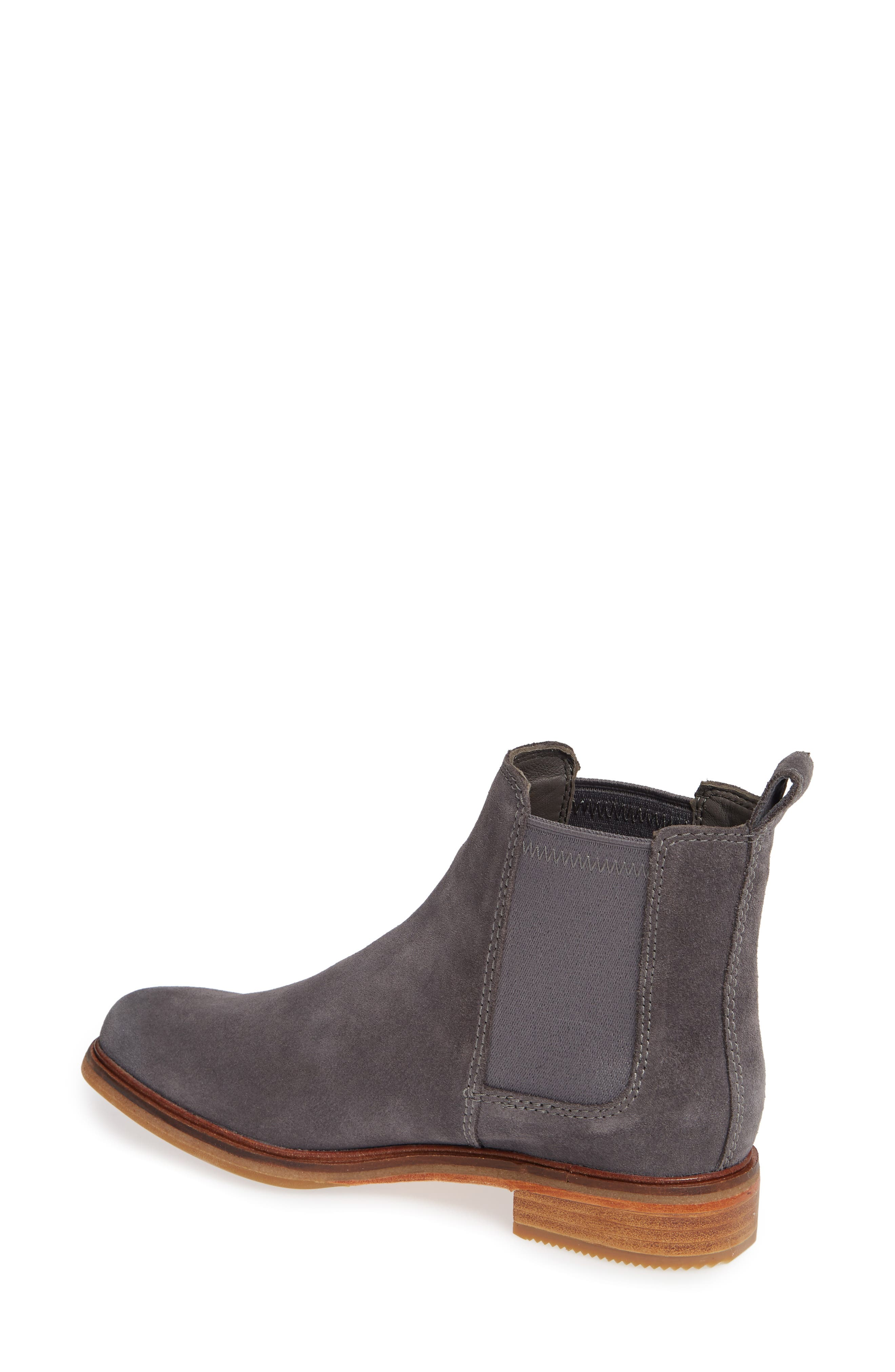 Clarkdale Arlo Boot,                             Alternate thumbnail 2, color,                             GREY SUEDE