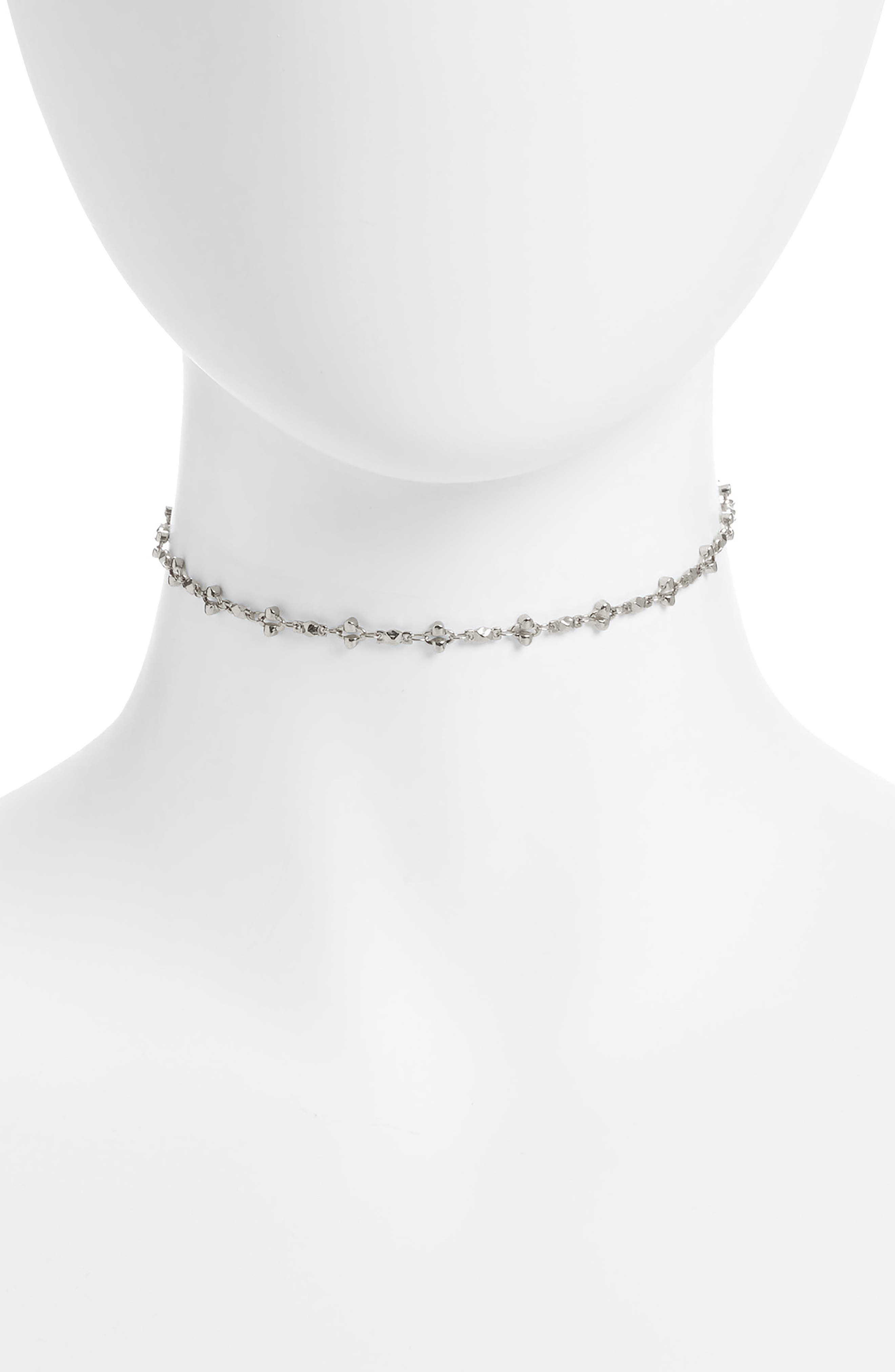 Anika Choker Necklace,                         Main,                         color,