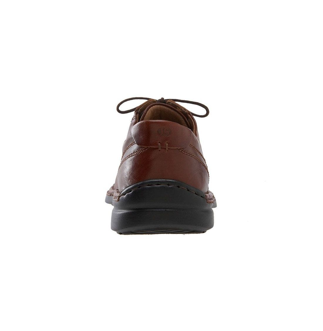 JOSEF SEIBEL,                             'Walt' Casual Oxford,                             Alternate thumbnail 3, color,                             ROMA BRANDY