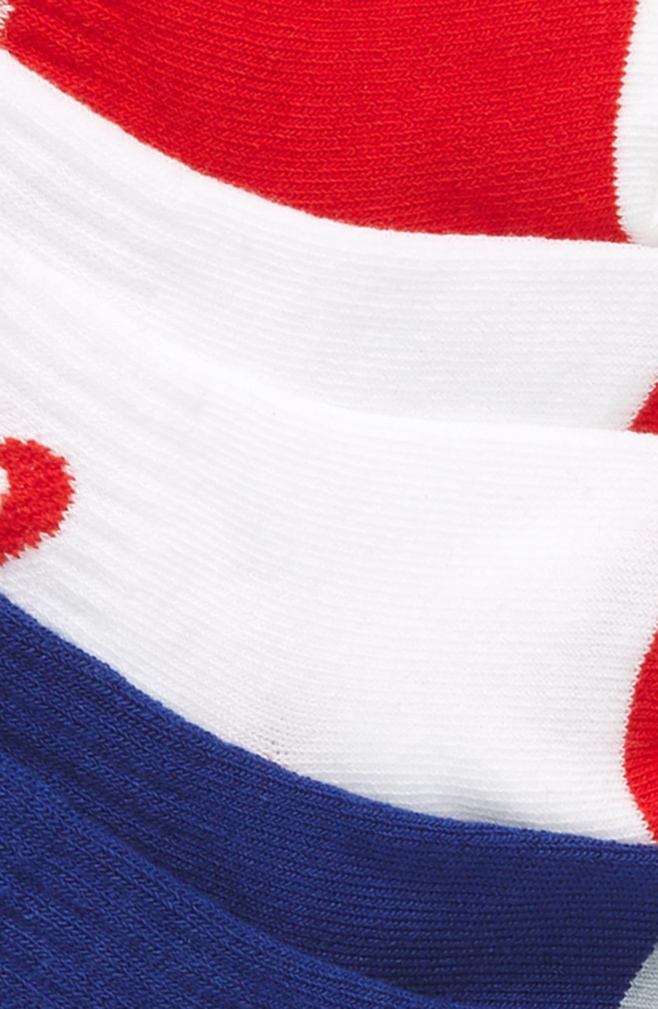 6-Pack Swoosh Logo Crib Socks,                             Alternate thumbnail 2, color,                             468