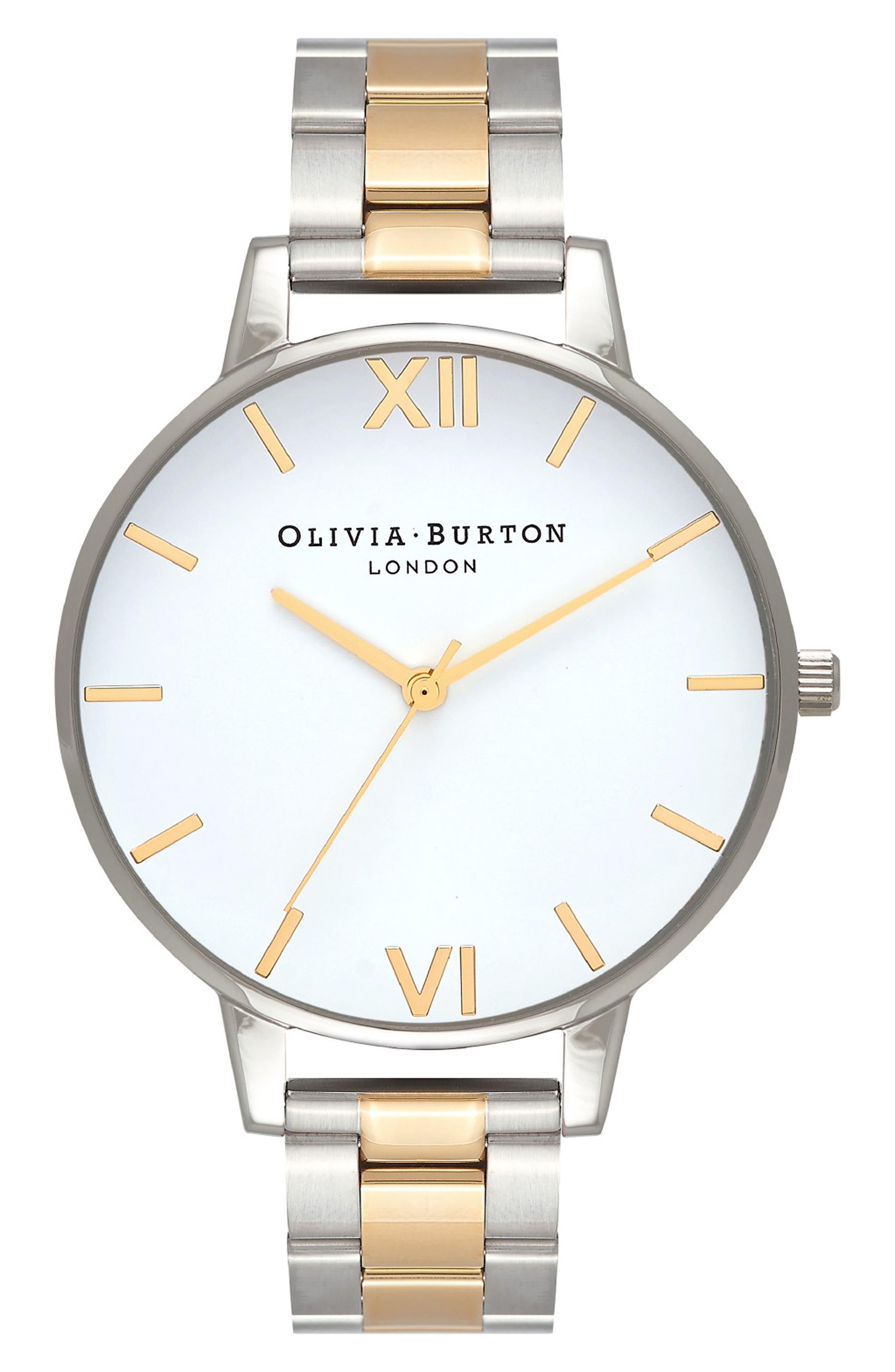 Big Dial Bracelet Watch, 38mm,                         Main,                         color, 041