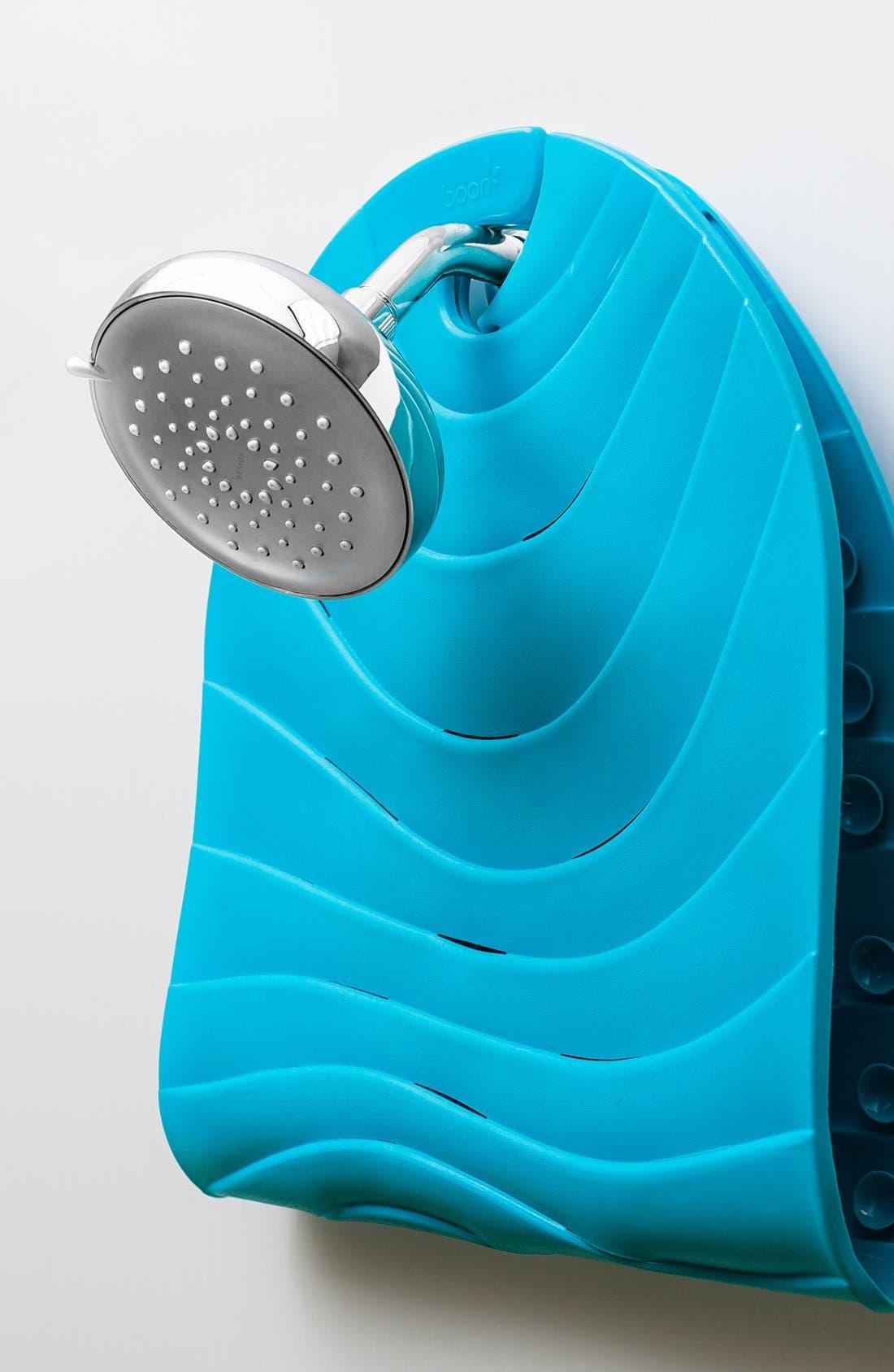 'Ripple' Bathtub Mat,                             Alternate thumbnail 3, color,                             BLUE
