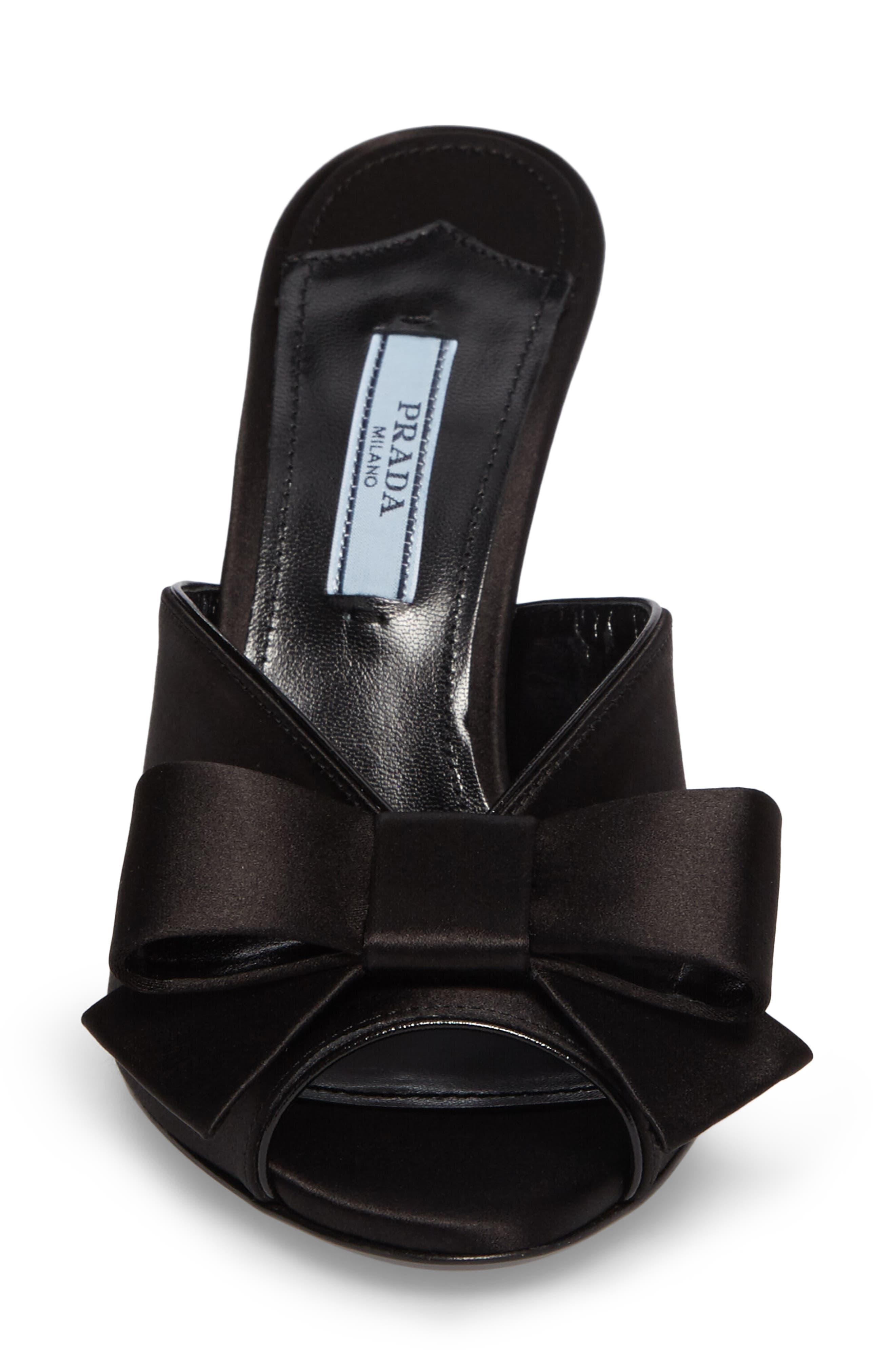 Bow Sandal,                             Alternate thumbnail 4, color,                             001
