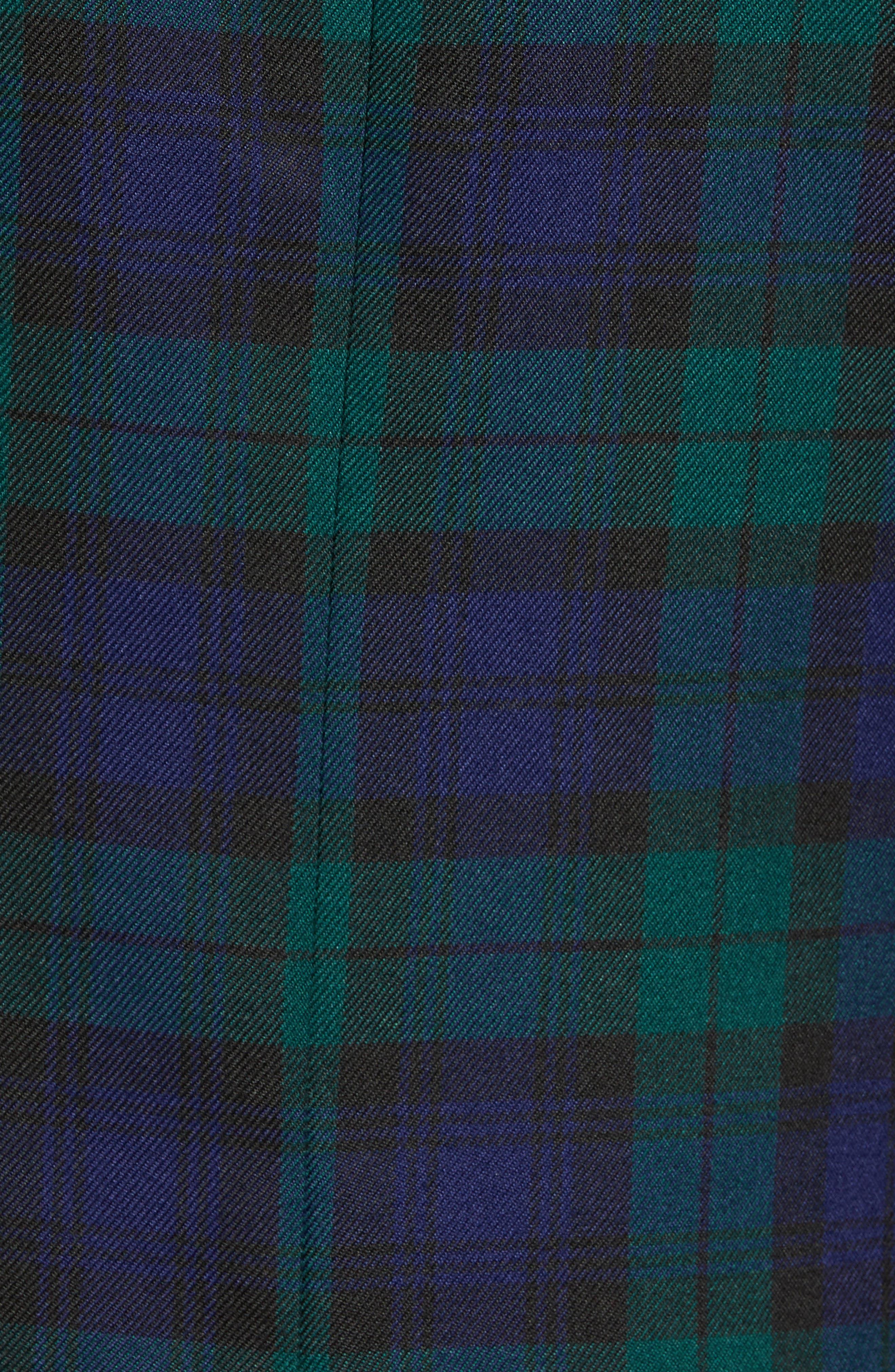 Plaid Slim Fit Suit Jacket,                             Alternate thumbnail 6, color,                             NAVY MULTI