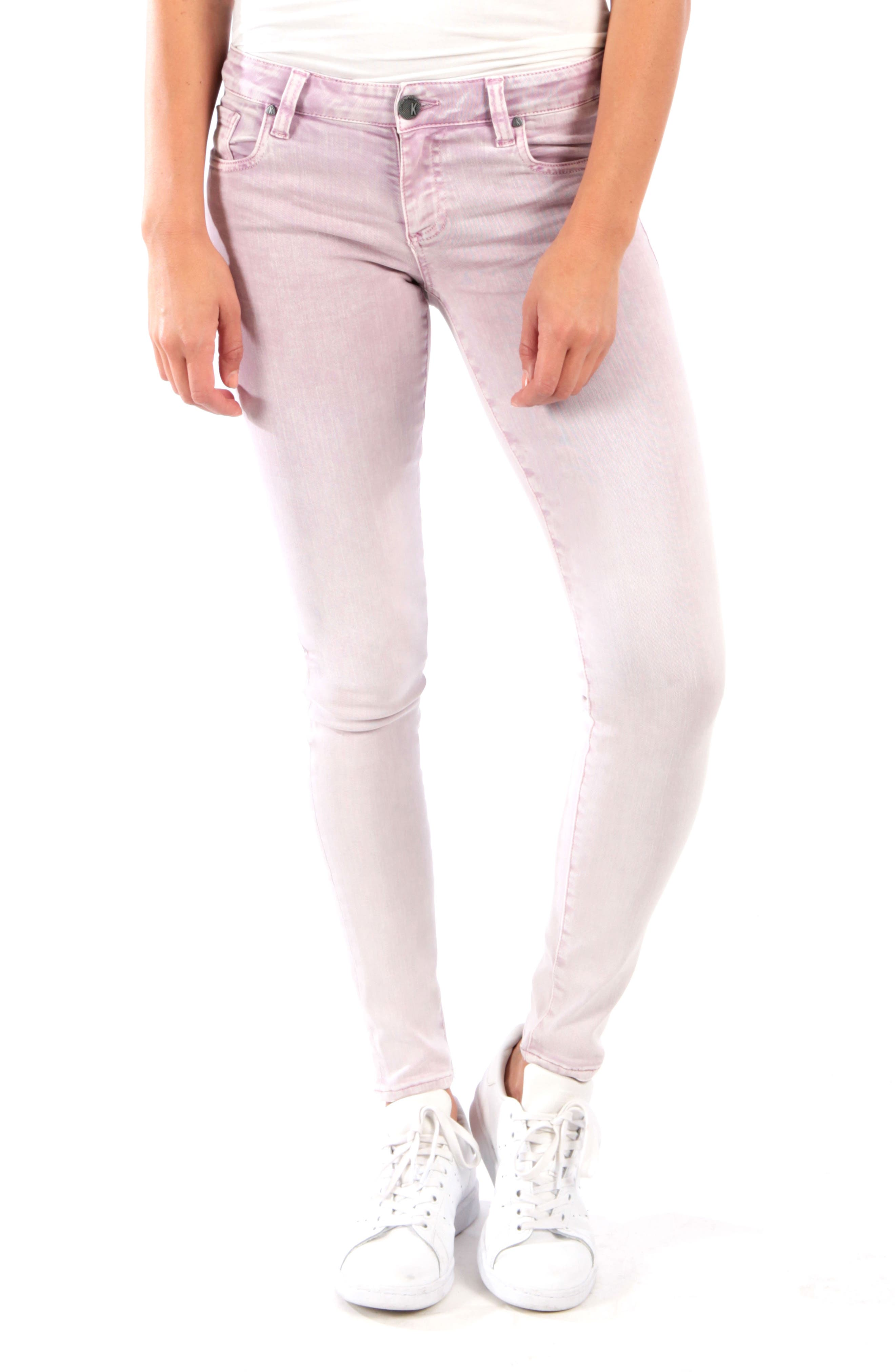 Petite Kut From The Kloth Donna Skinny Jeans, Purple