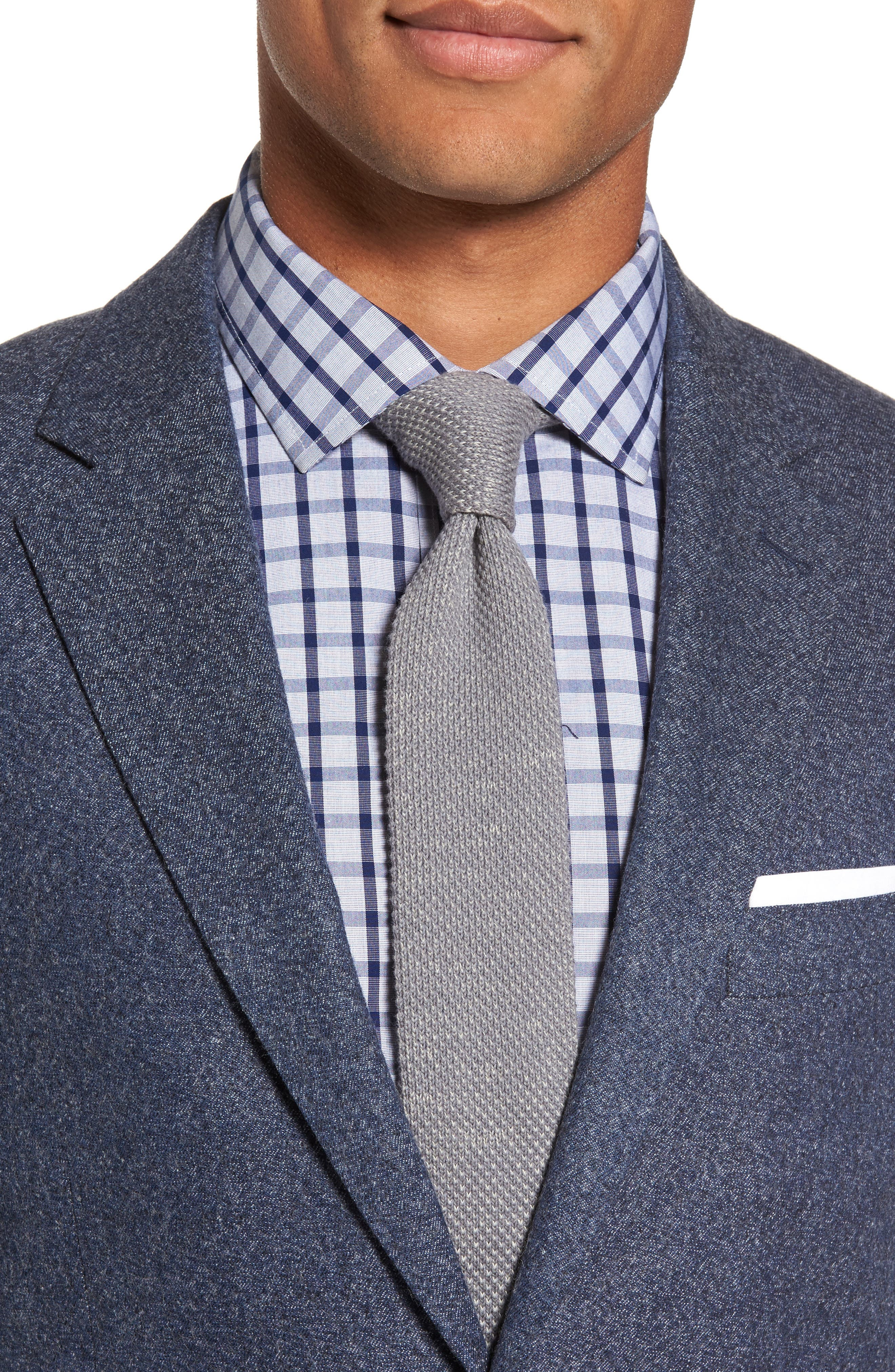 Charleston Wool Blend Sport Coat,                             Alternate thumbnail 4, color,                             414