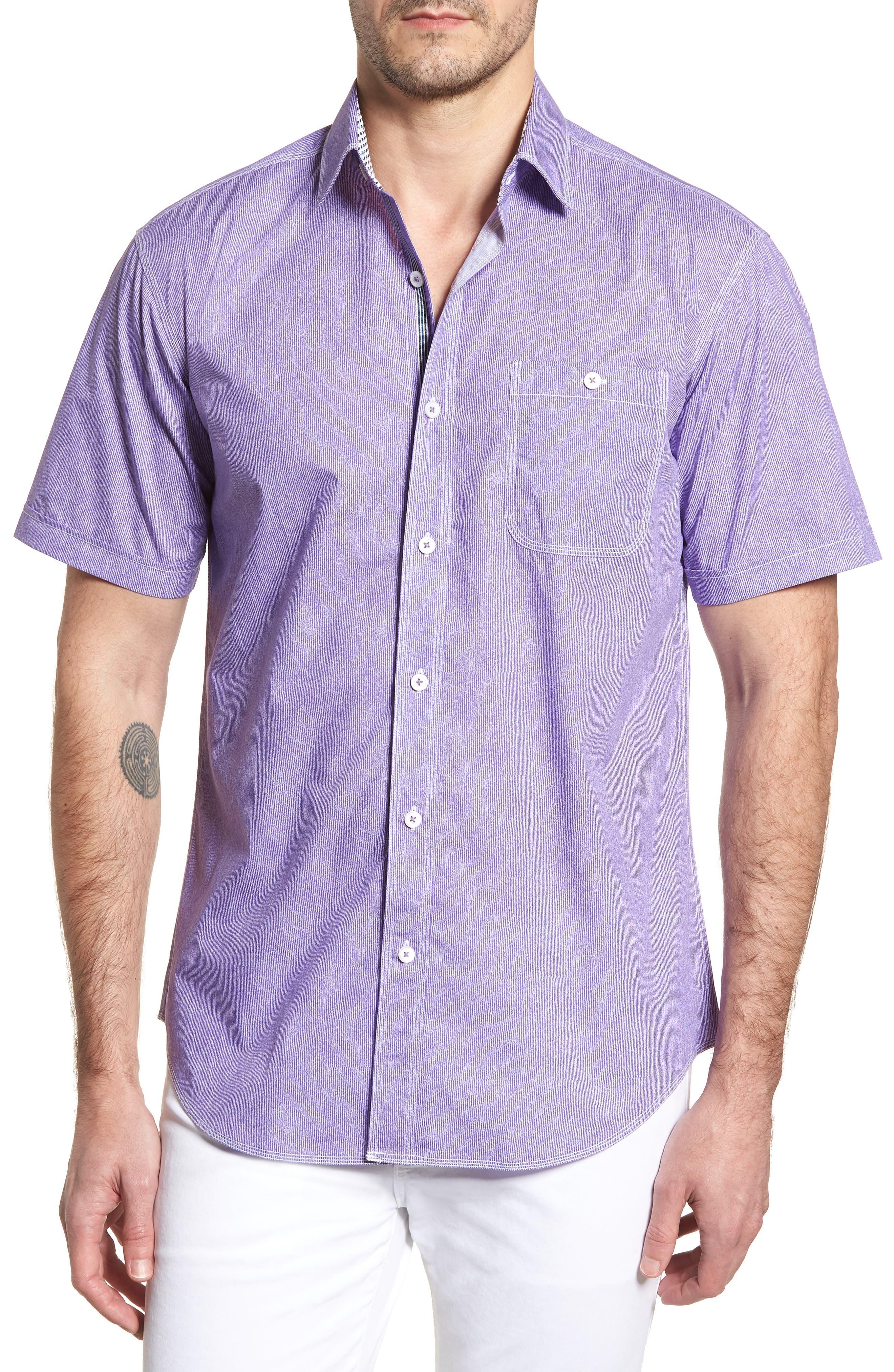Shaped Fit Sport Shirt,                             Main thumbnail 4, color,