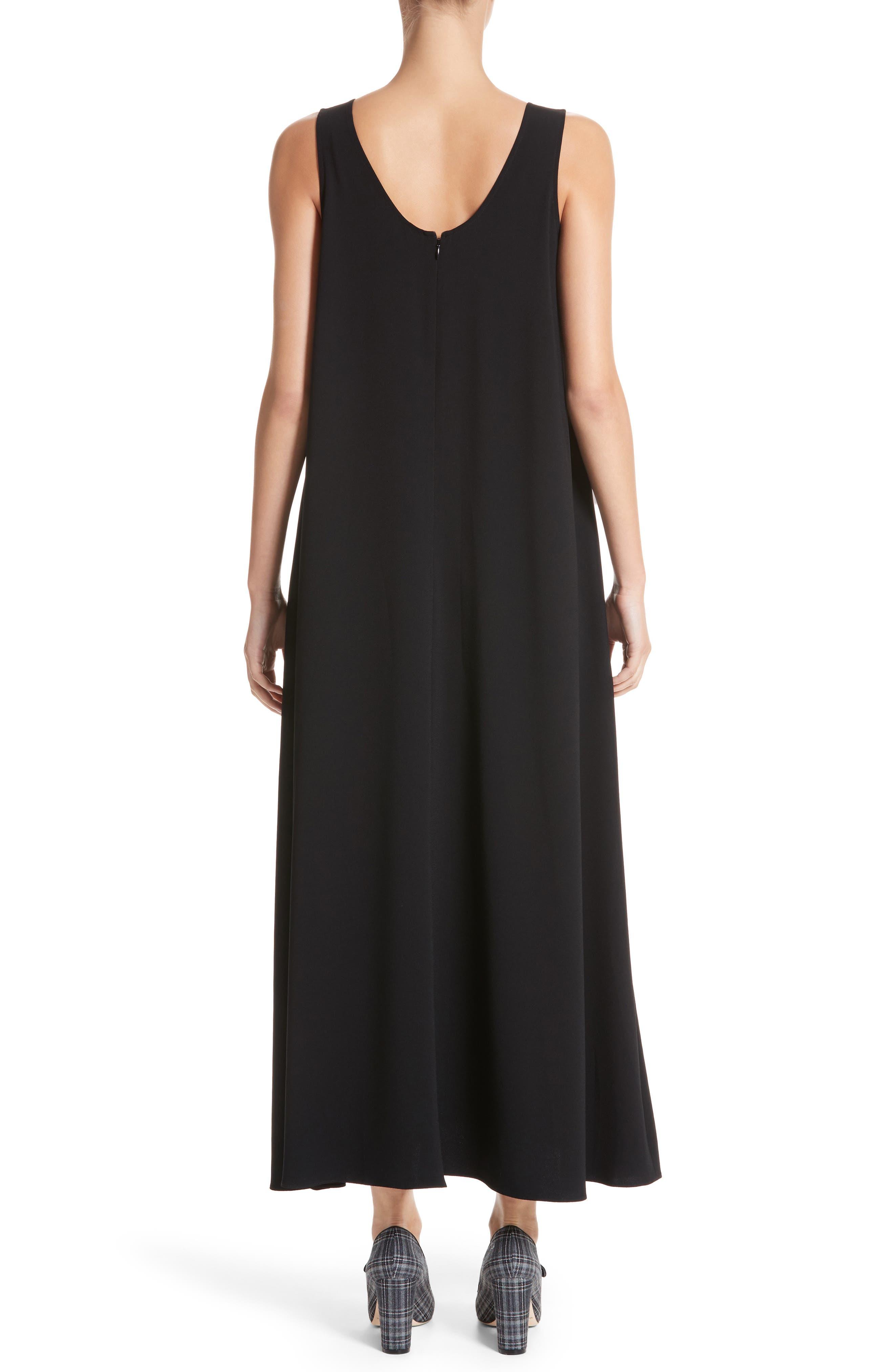 Sleeveless Maxi Dress,                             Alternate thumbnail 2, color,                             001