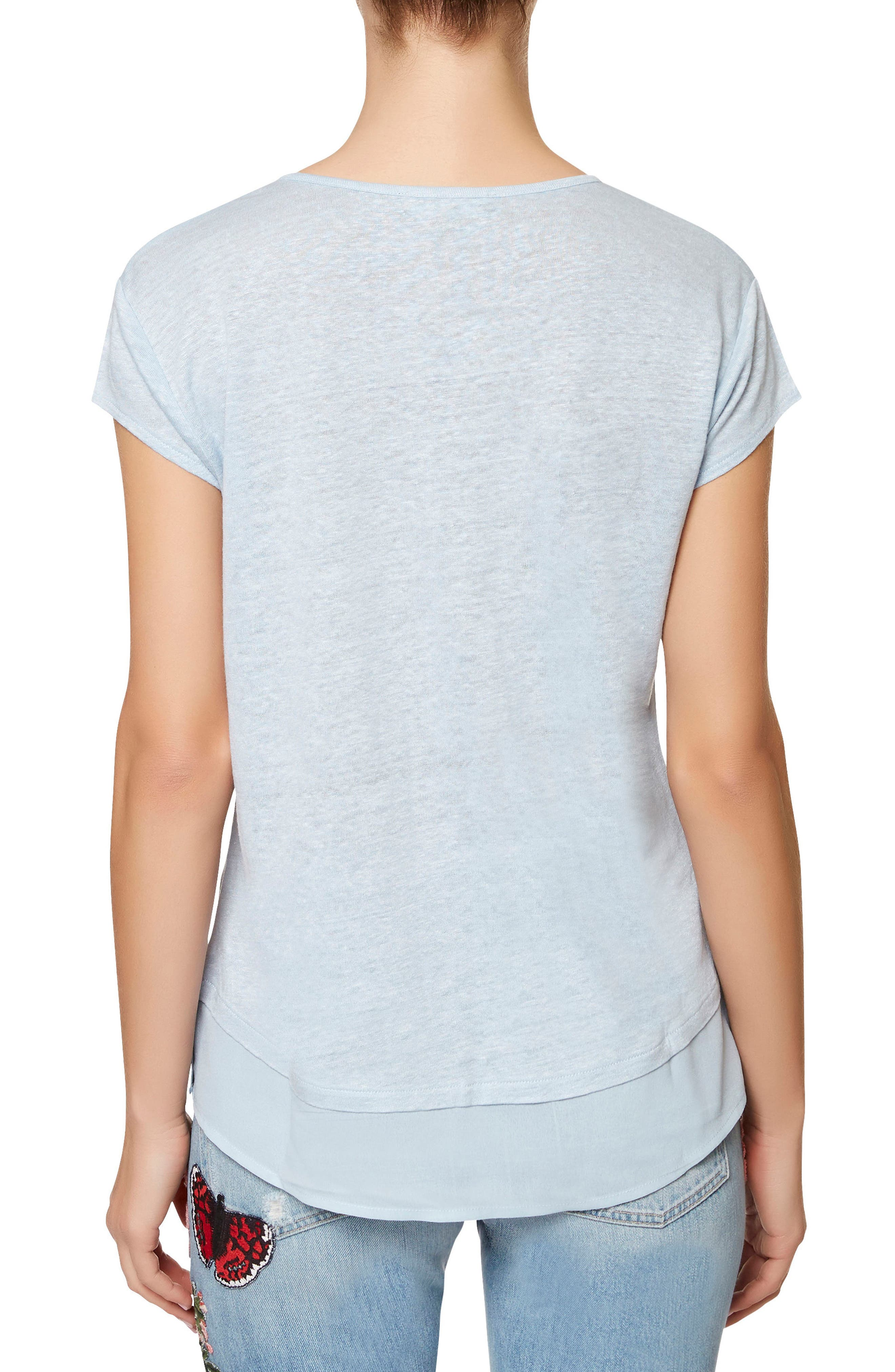 City Mix Layered Look Tee,                             Alternate thumbnail 34, color,
