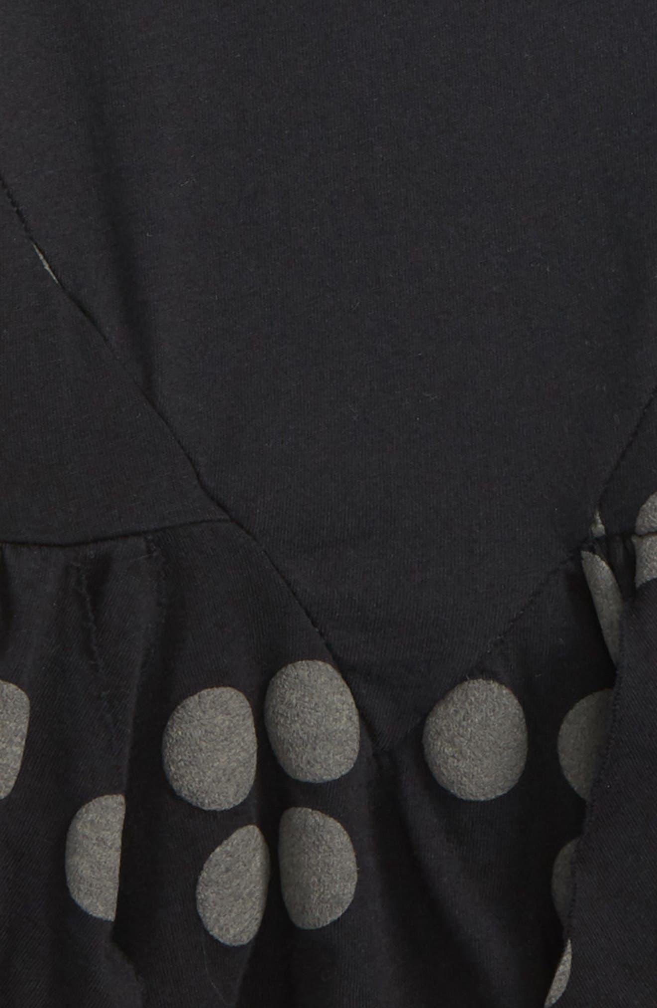 Braille Dot Layered Tank Dress,                             Alternate thumbnail 2, color,                             001