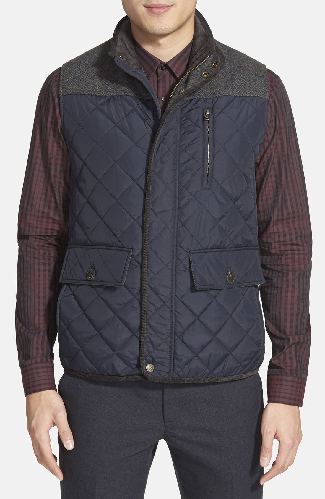 Quilted Vest,                             Main thumbnail 2, color,