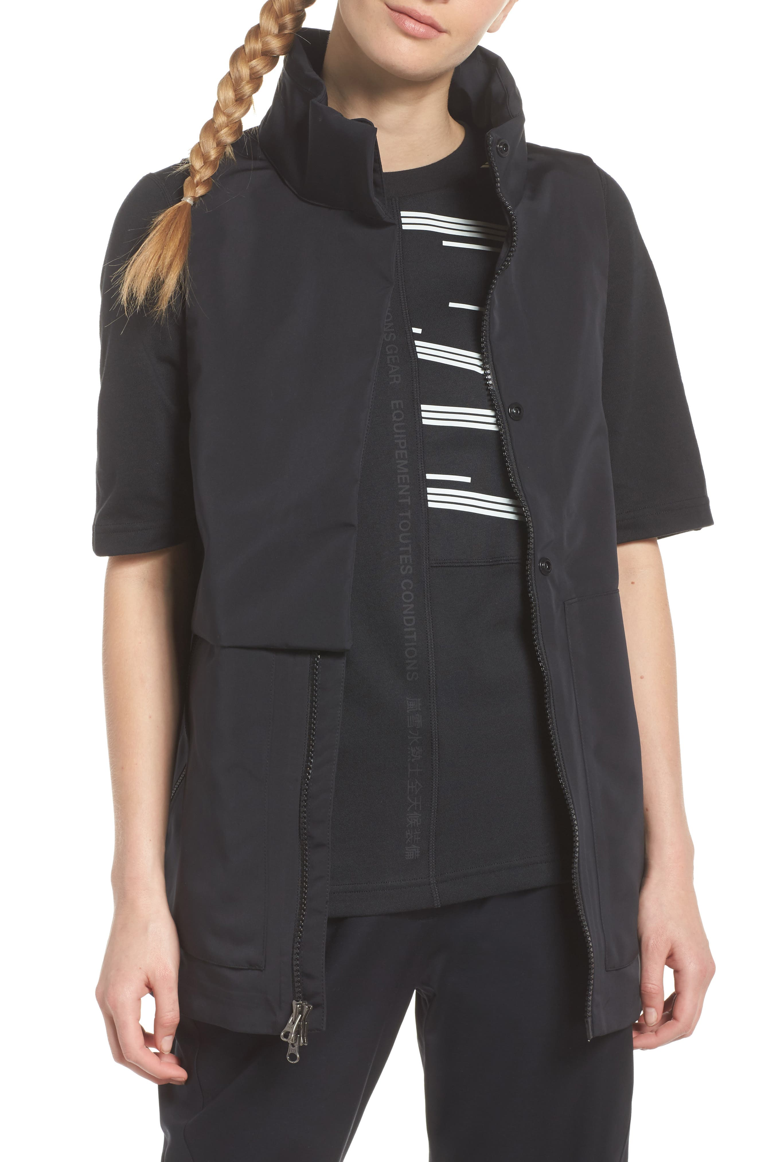 NikeLab ACG Water Repellent Women's Hooded Vest,                             Main thumbnail 1, color,                             010