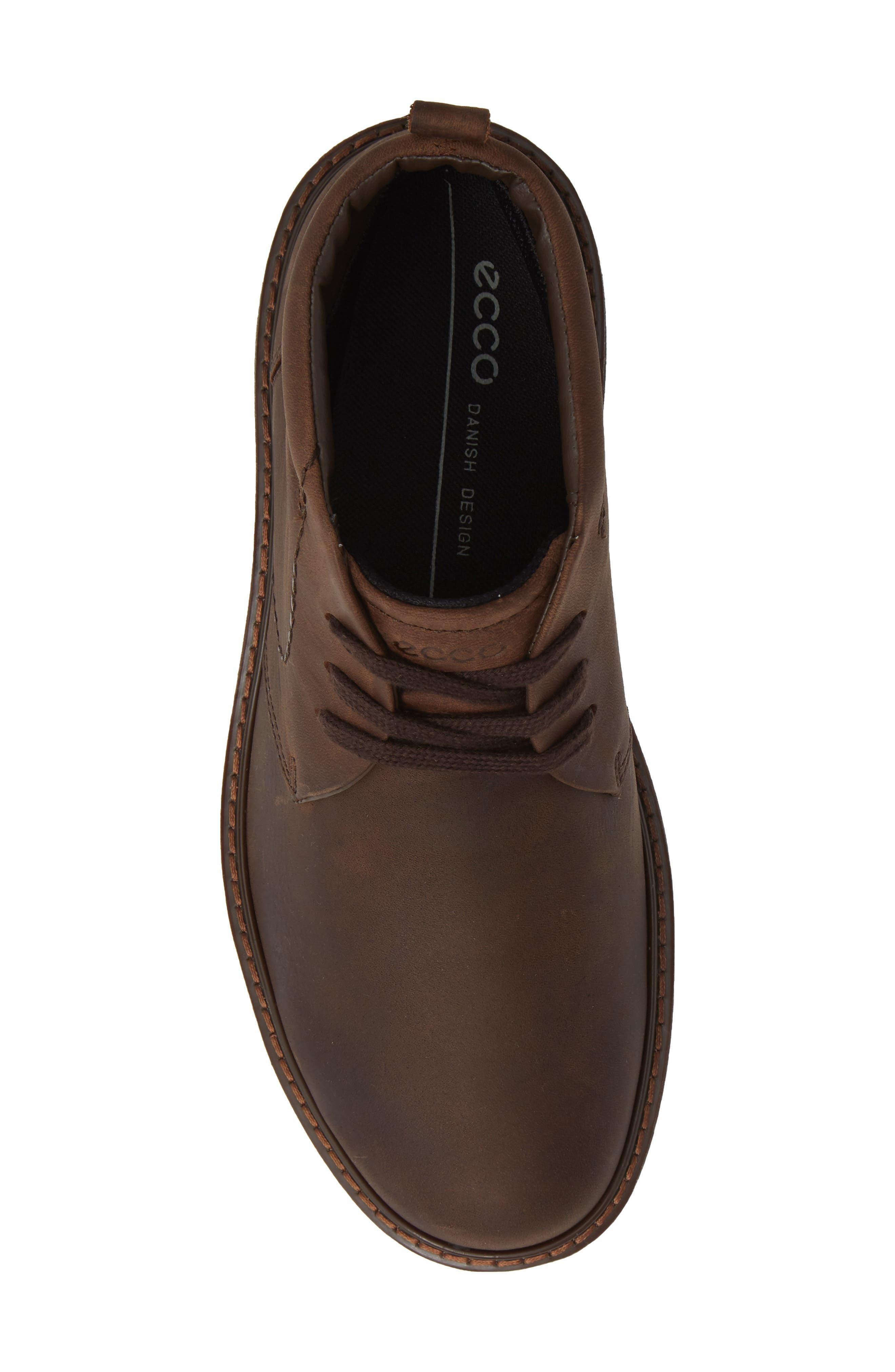 Turn Gore-Tex<sup>®</sup> Waterproof Chukka Boot,                             Alternate thumbnail 5, color,                             COCOA BROWN
