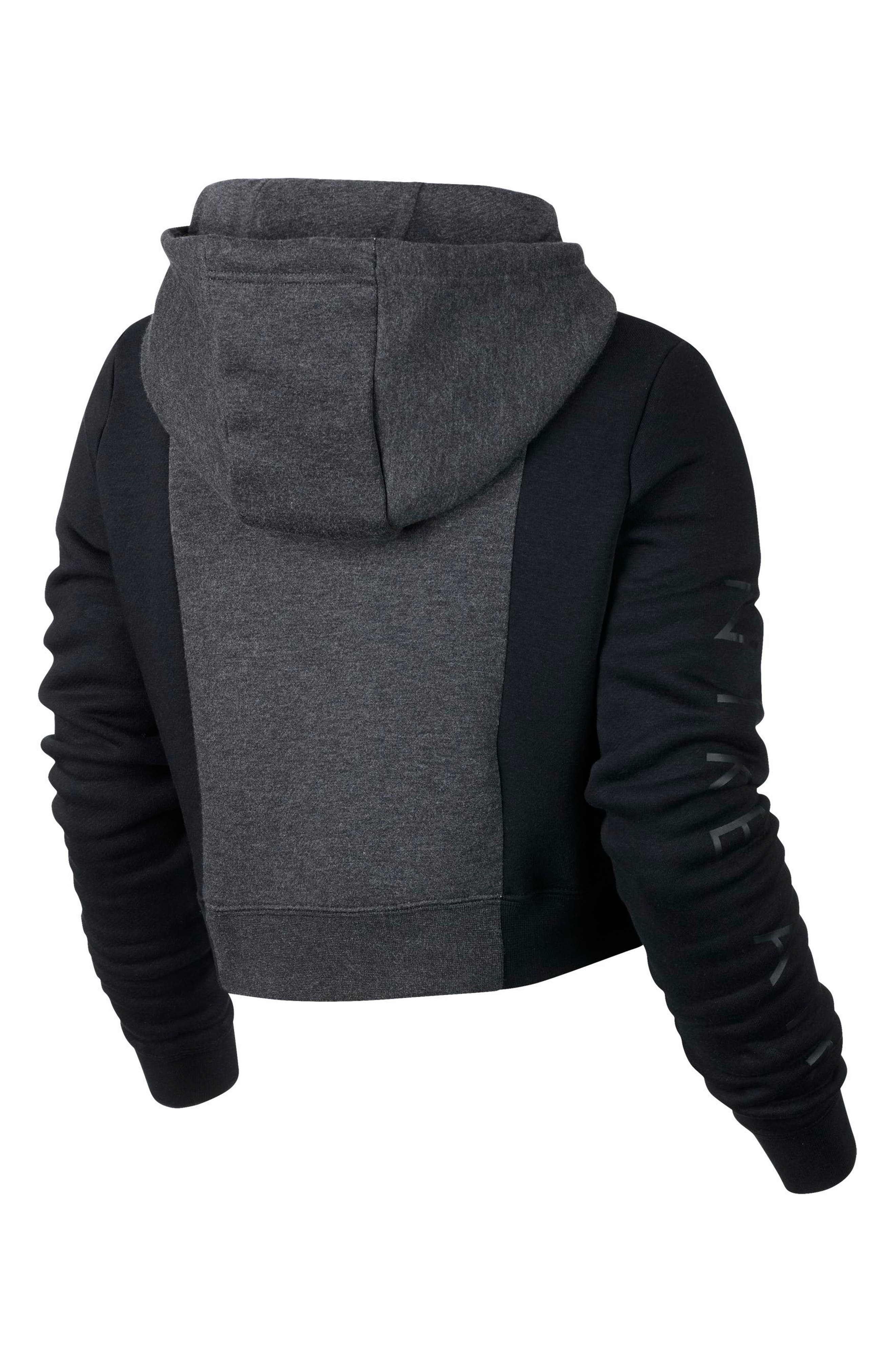 NSW Rally Air Women's Crop Pullover Hoodie,                             Alternate thumbnail 2, color,                             009