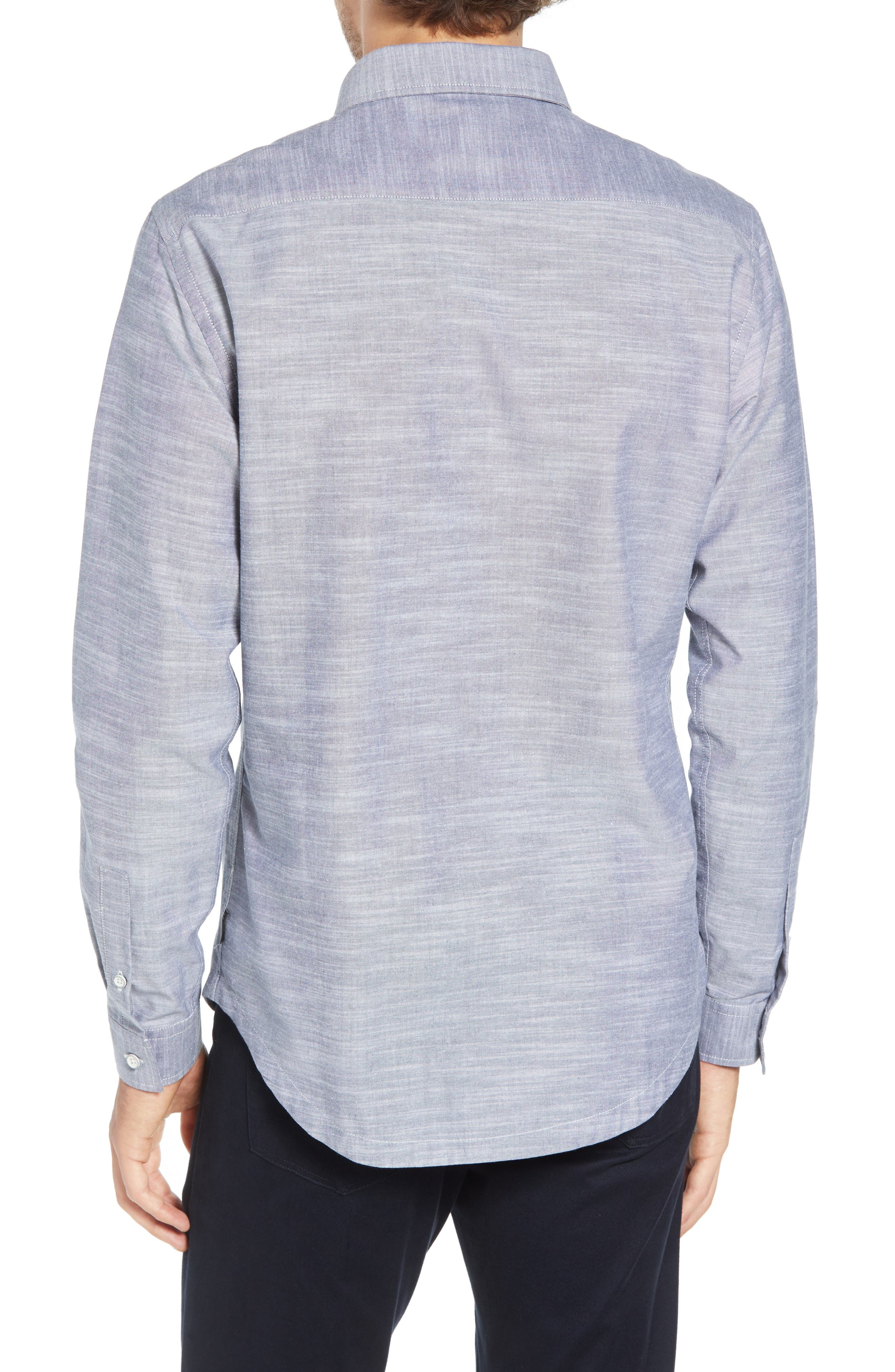 Rugger Regular Fit Sport Shirt,                             Alternate thumbnail 3, color,                             029