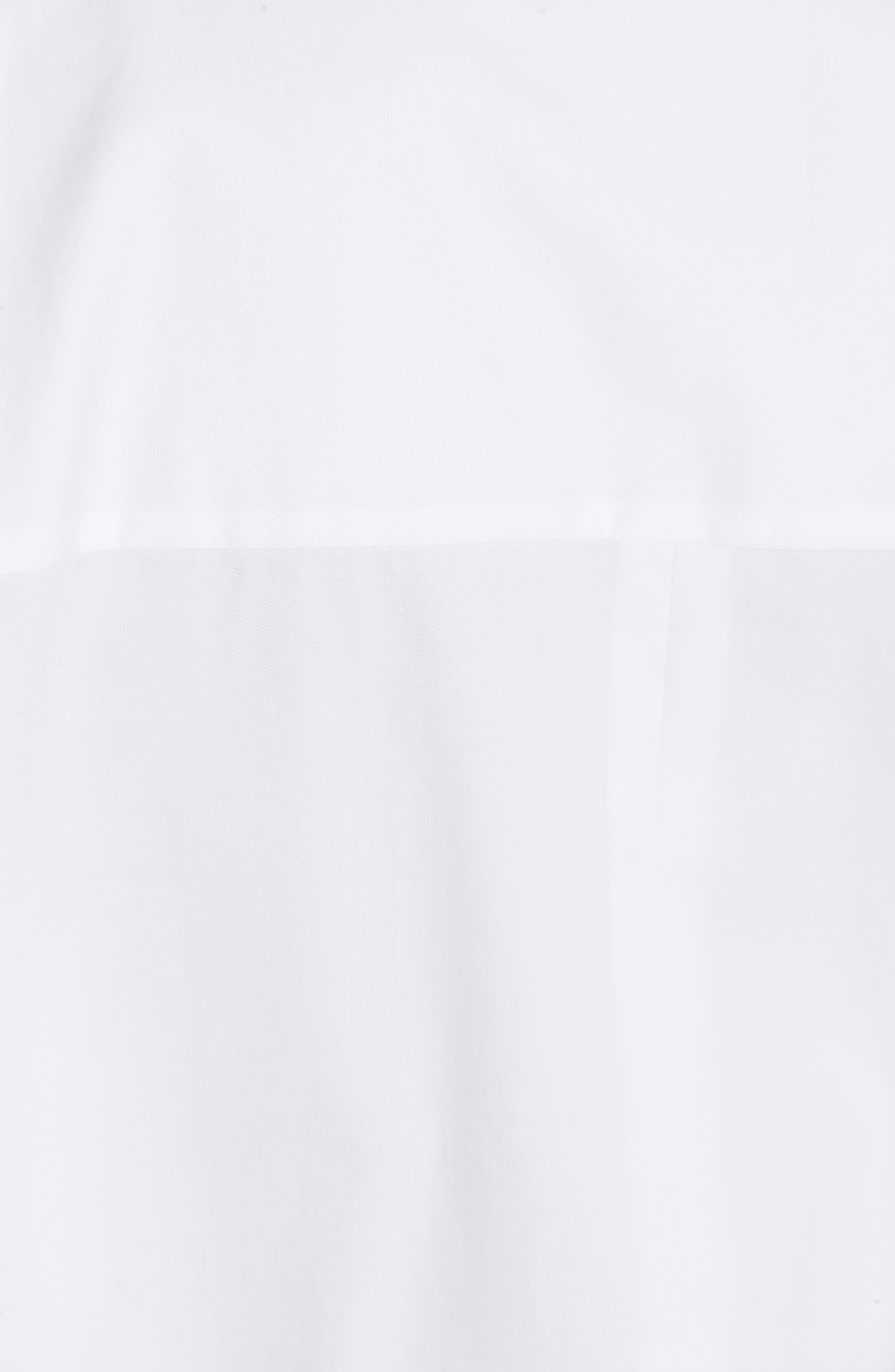 Oversize Poplin Shirt,                             Alternate thumbnail 5, color,                             WHITE
