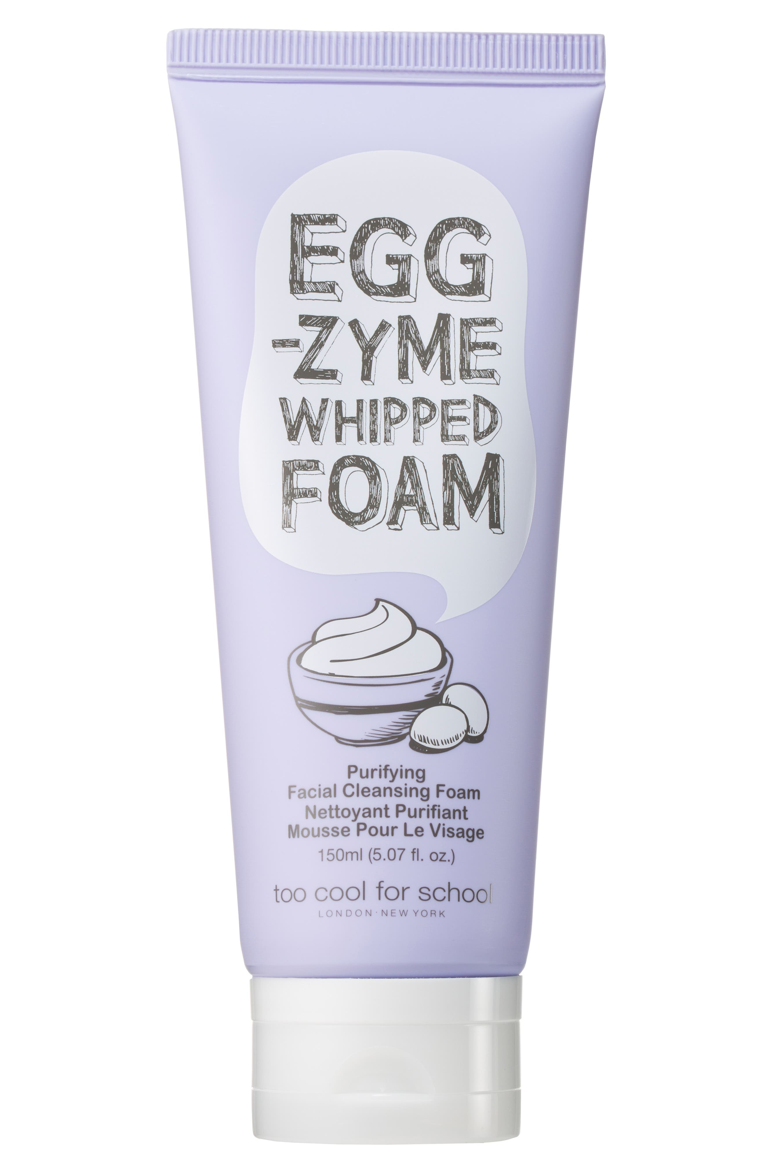 Egg-zyme Whipped Foaming Cleanser,                             Main thumbnail 1, color,                             NO COLOR