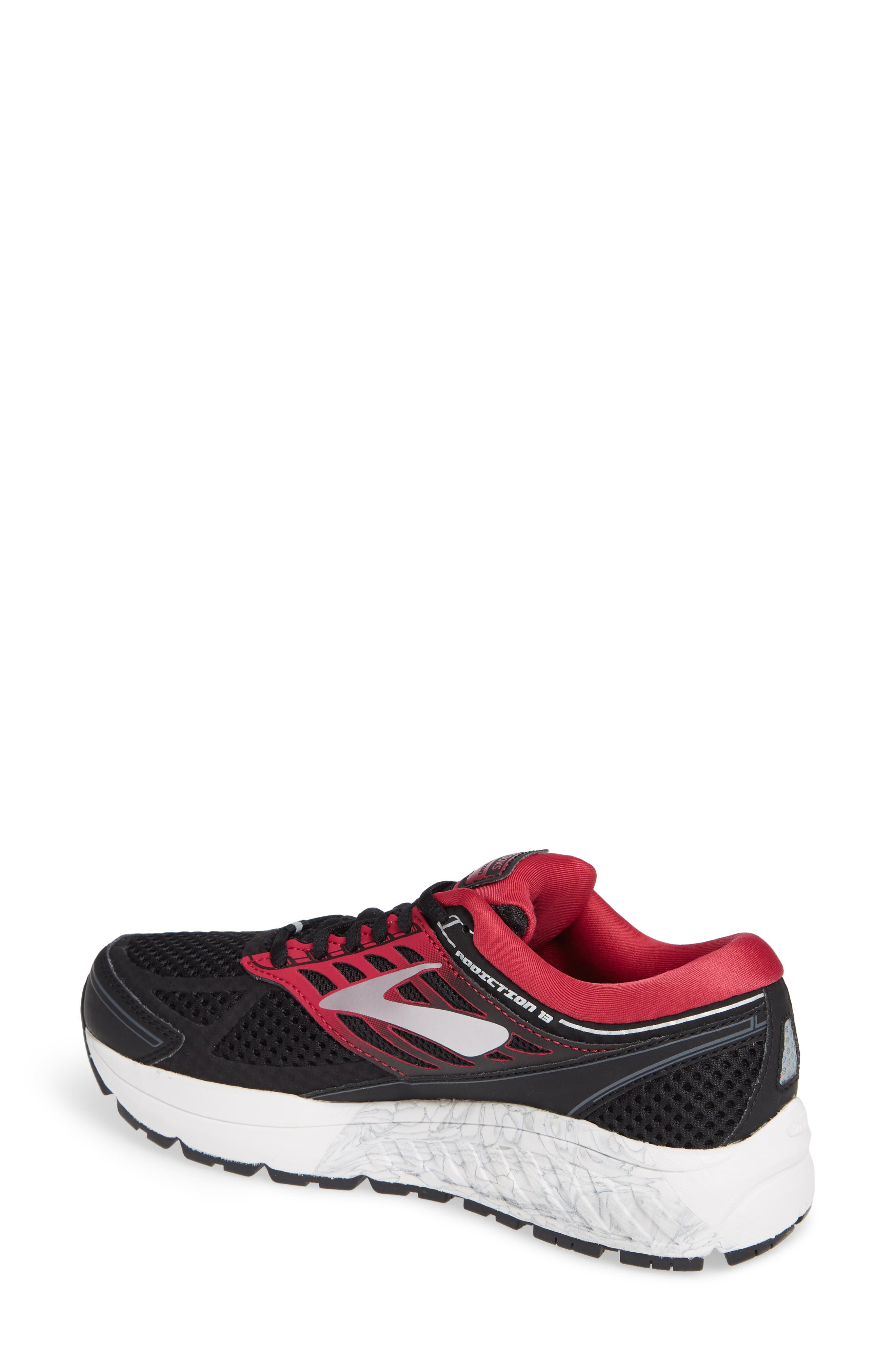 Addiction 13 Running Shoe,                             Alternate thumbnail 2, color,                             BLACK/ PINK/ GREY