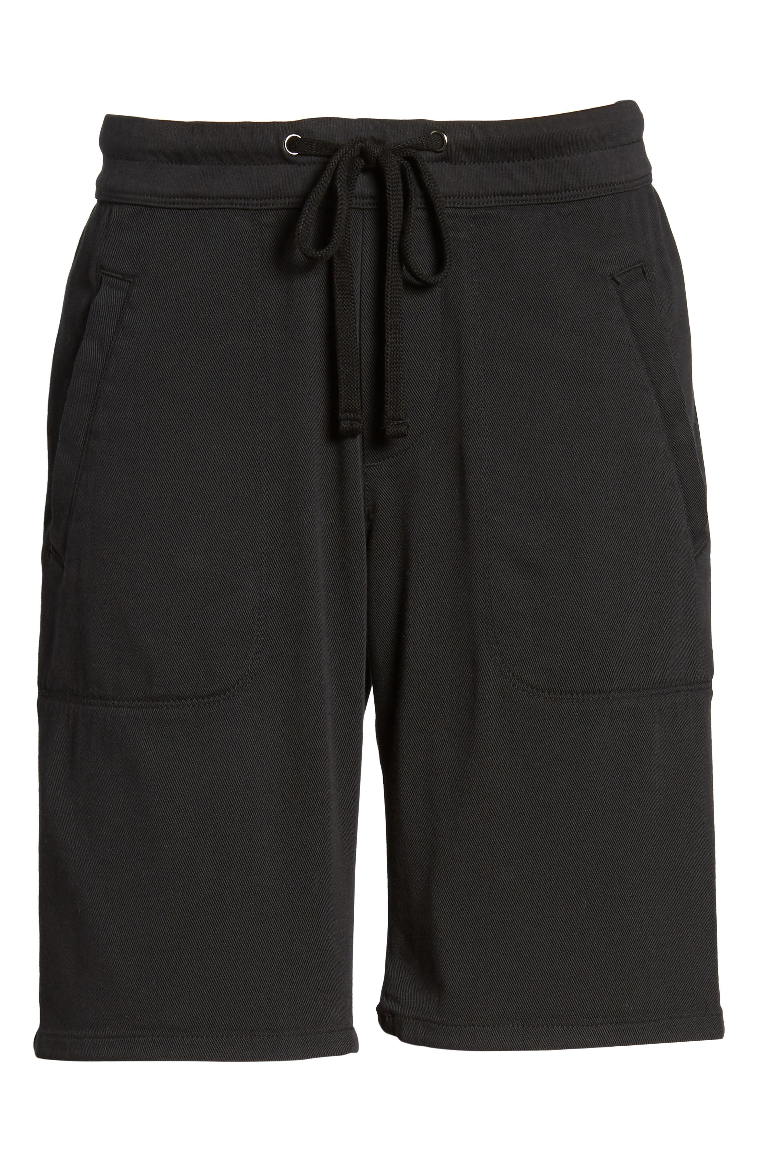Soft Drape Utility Shorts,                             Alternate thumbnail 6, color,                             001