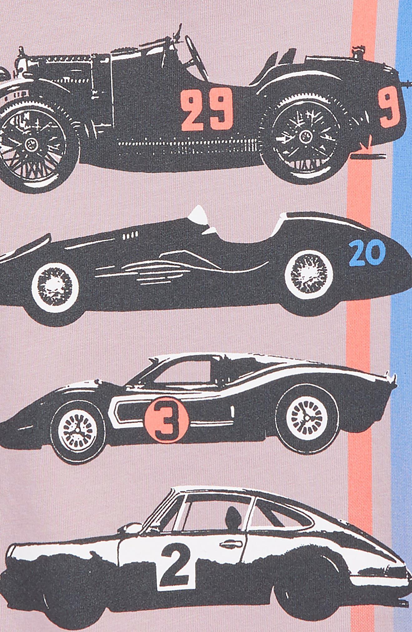 Race Car Graphic T-Shirt,                             Alternate thumbnail 3, color,                             515