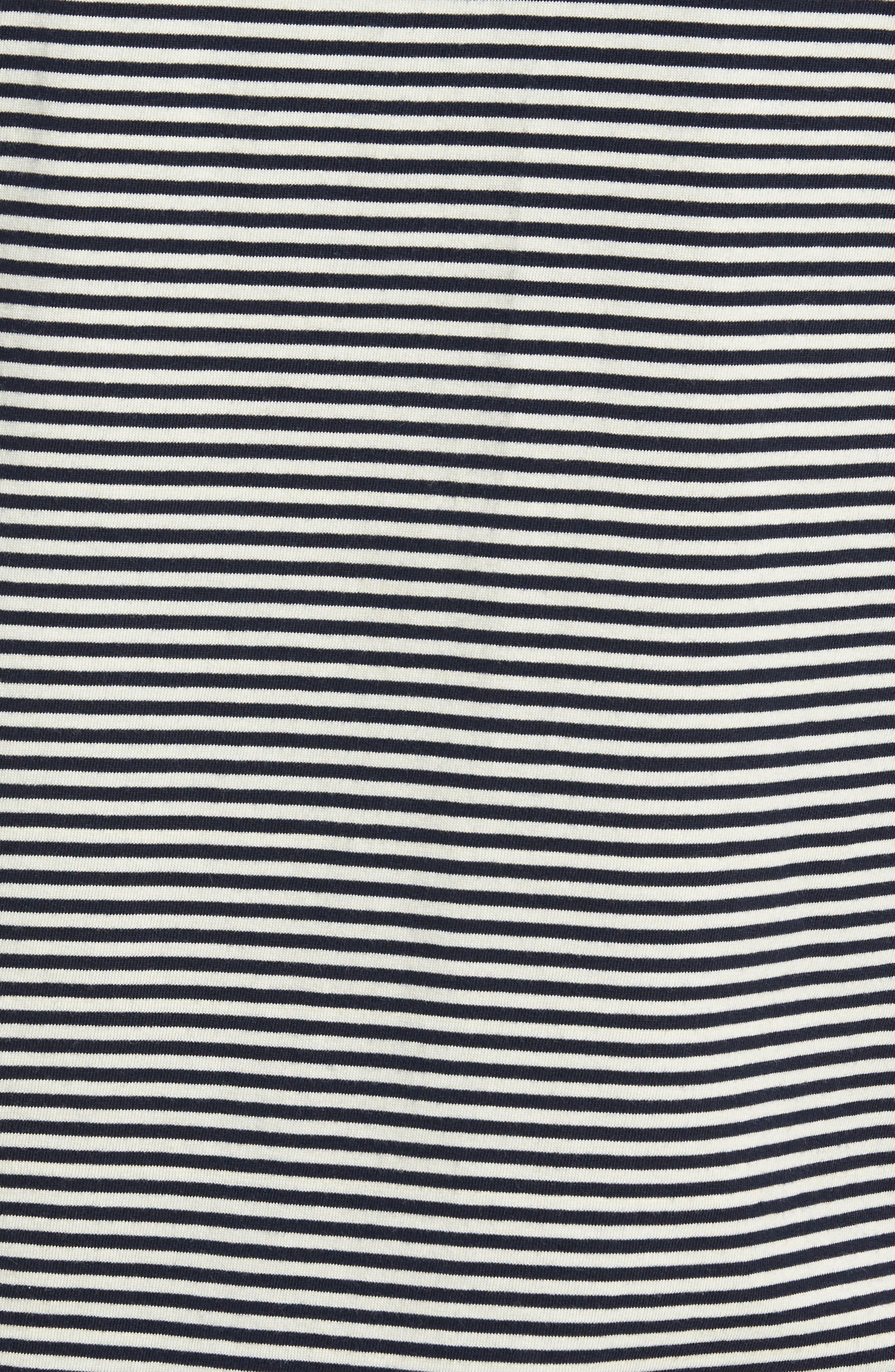 Pinstripe Polo,                             Alternate thumbnail 5, color,