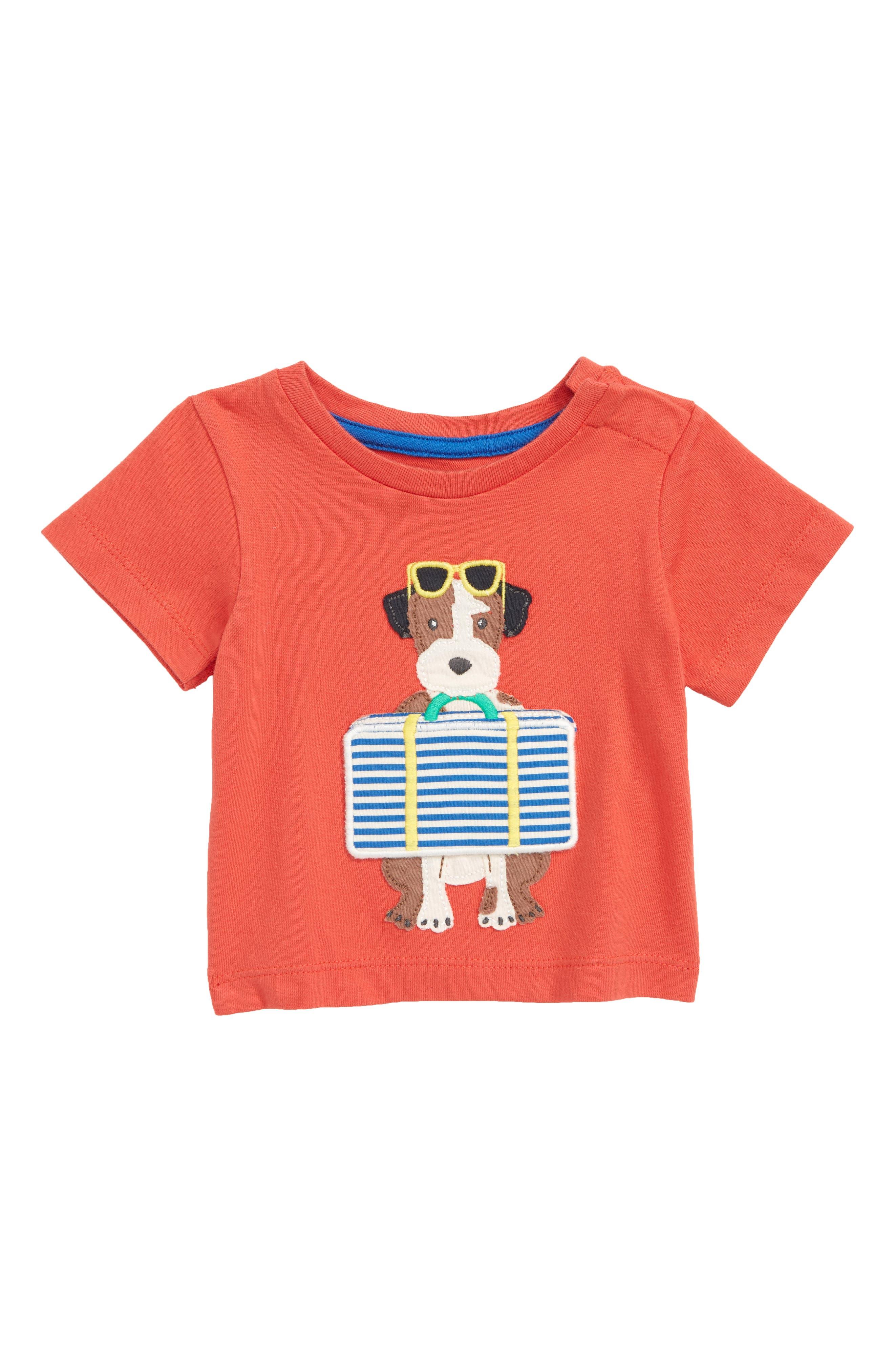 MINI BODEN Peekaboo T-Shirt, Main, color, 614