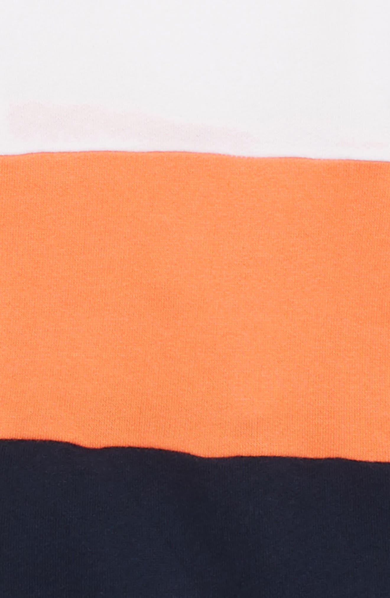 Court Colorblock Hoodie,                             Alternate thumbnail 2, color,                             418