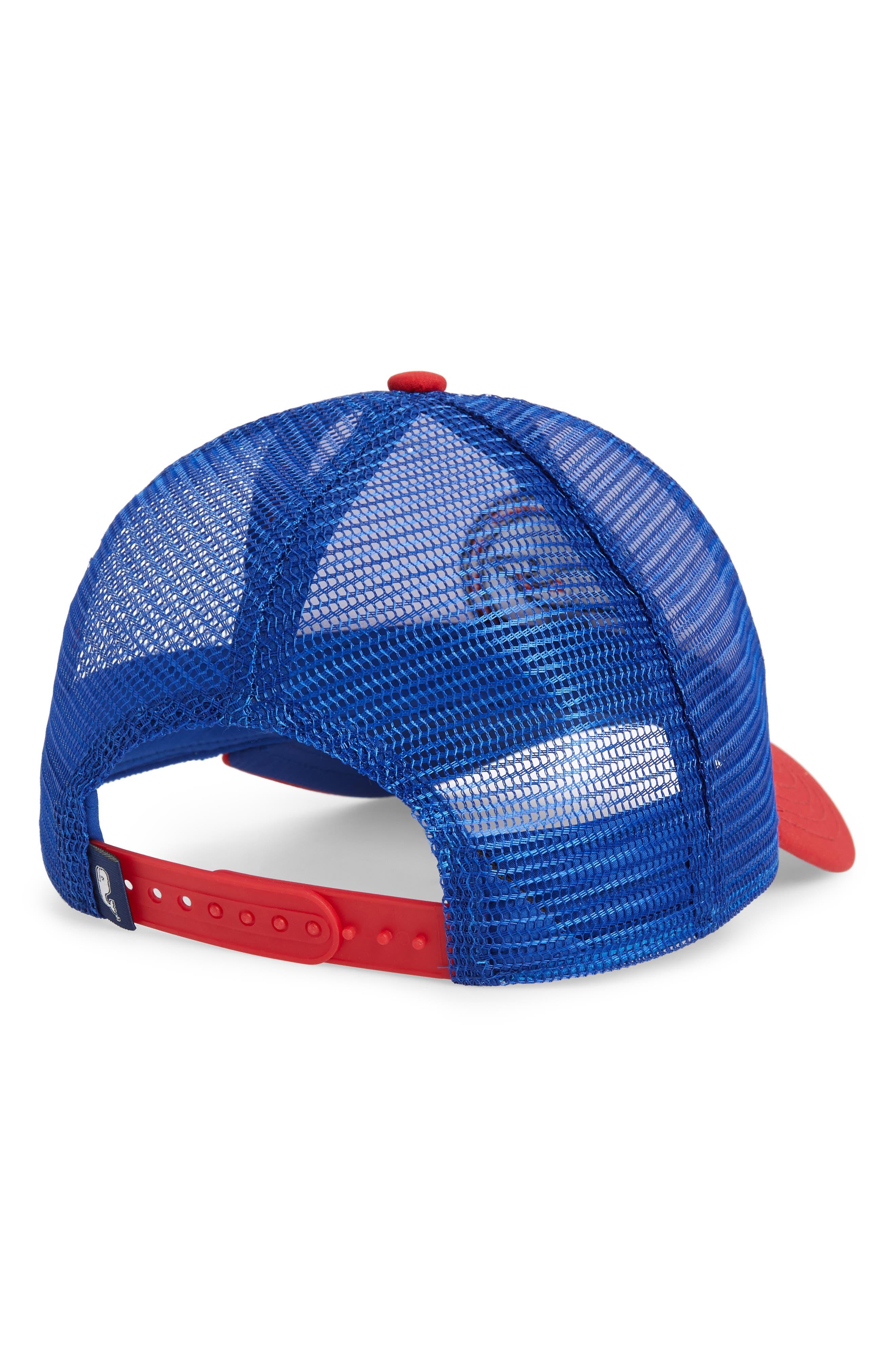 Low Pro Trucker Hat,                             Alternate thumbnail 2, color,                             WHITE CAP