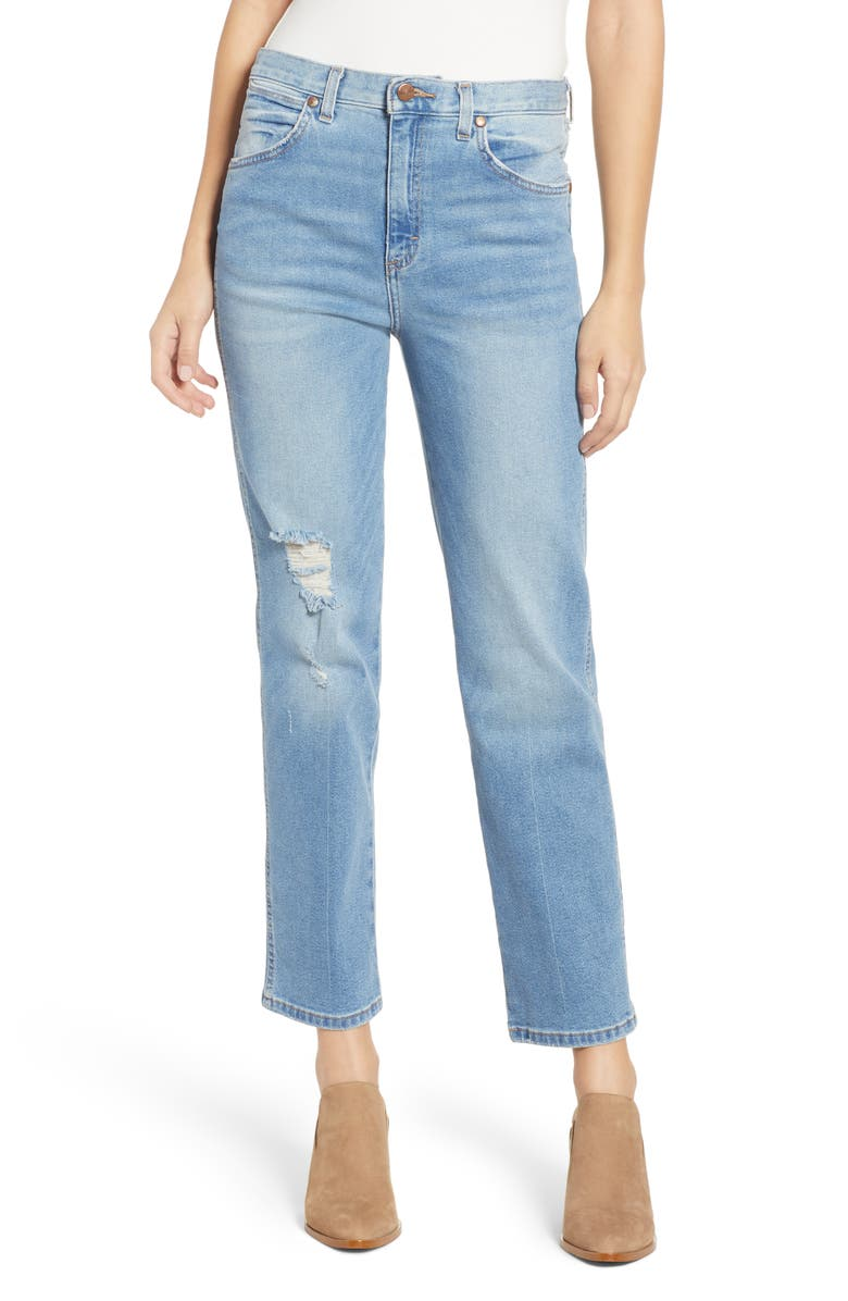 Wrangler HIGH WAIST HERITAGE FIT JEANS